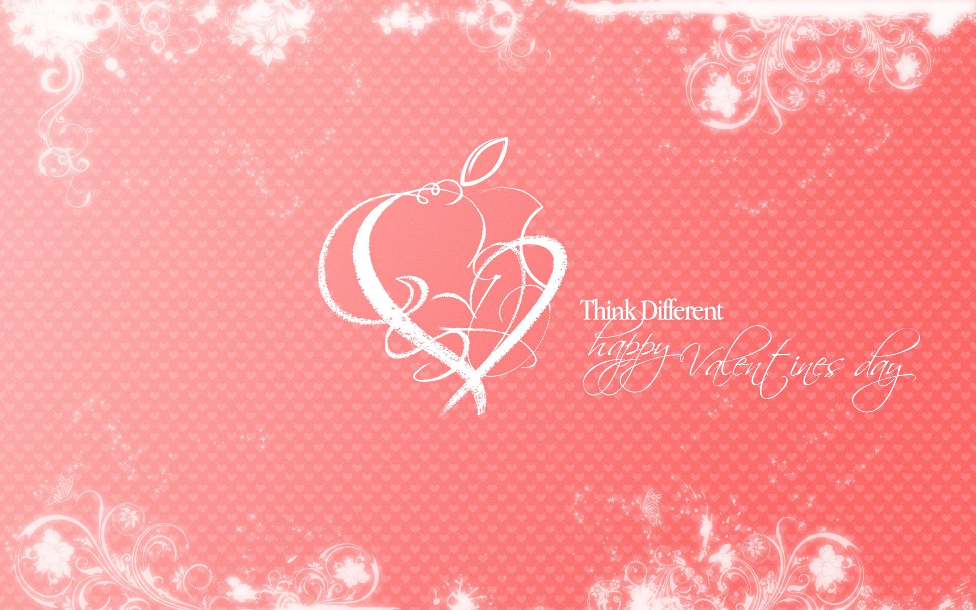 download hintergrundbilder 1920x1200 apple happy valentinstag hd hintergrund. Black Bedroom Furniture Sets. Home Design Ideas
