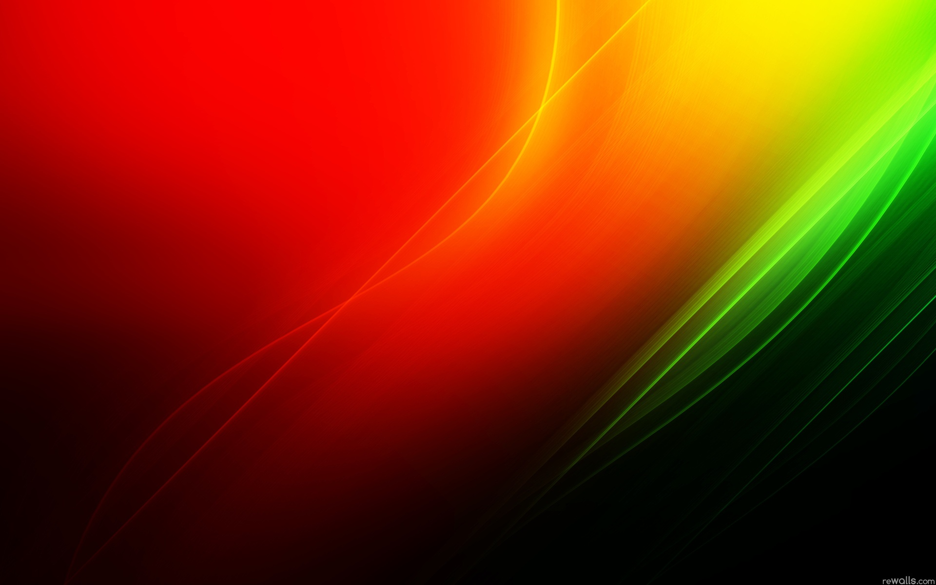 Wallpaper Red And Green Abstract Background 1920x1200 Hd