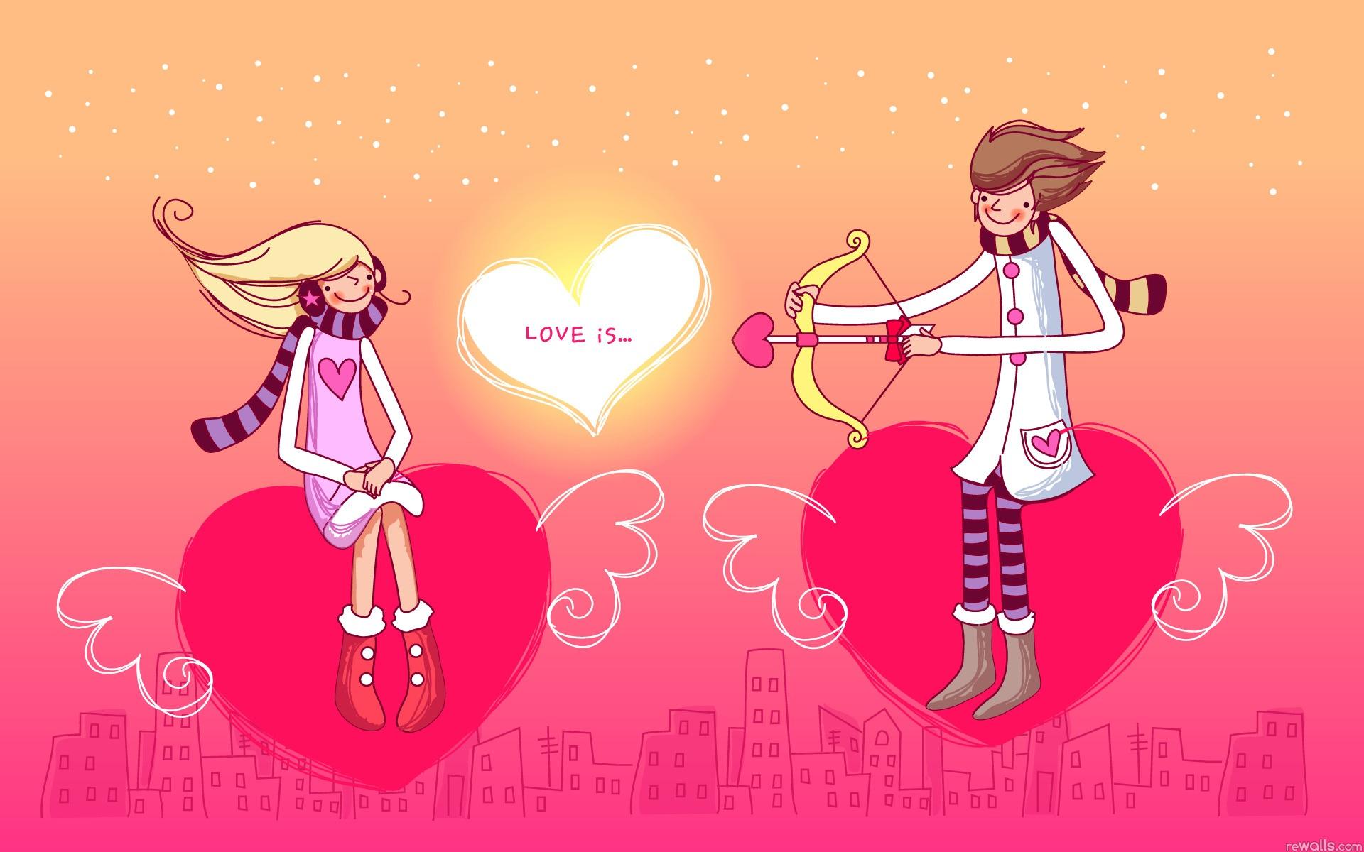 Love heart boy wallpaper hd