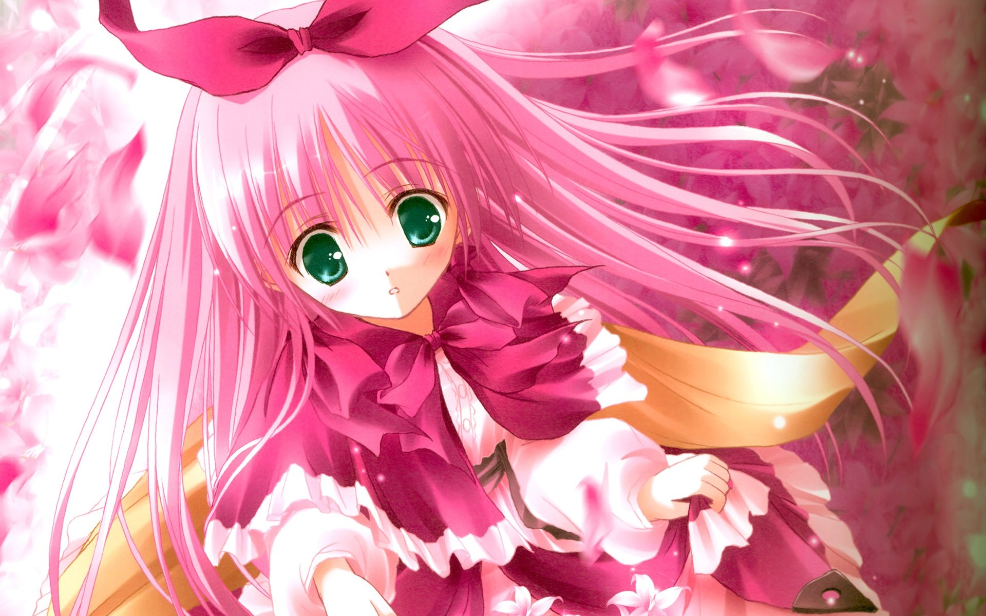 image pink cute girl - photo #20