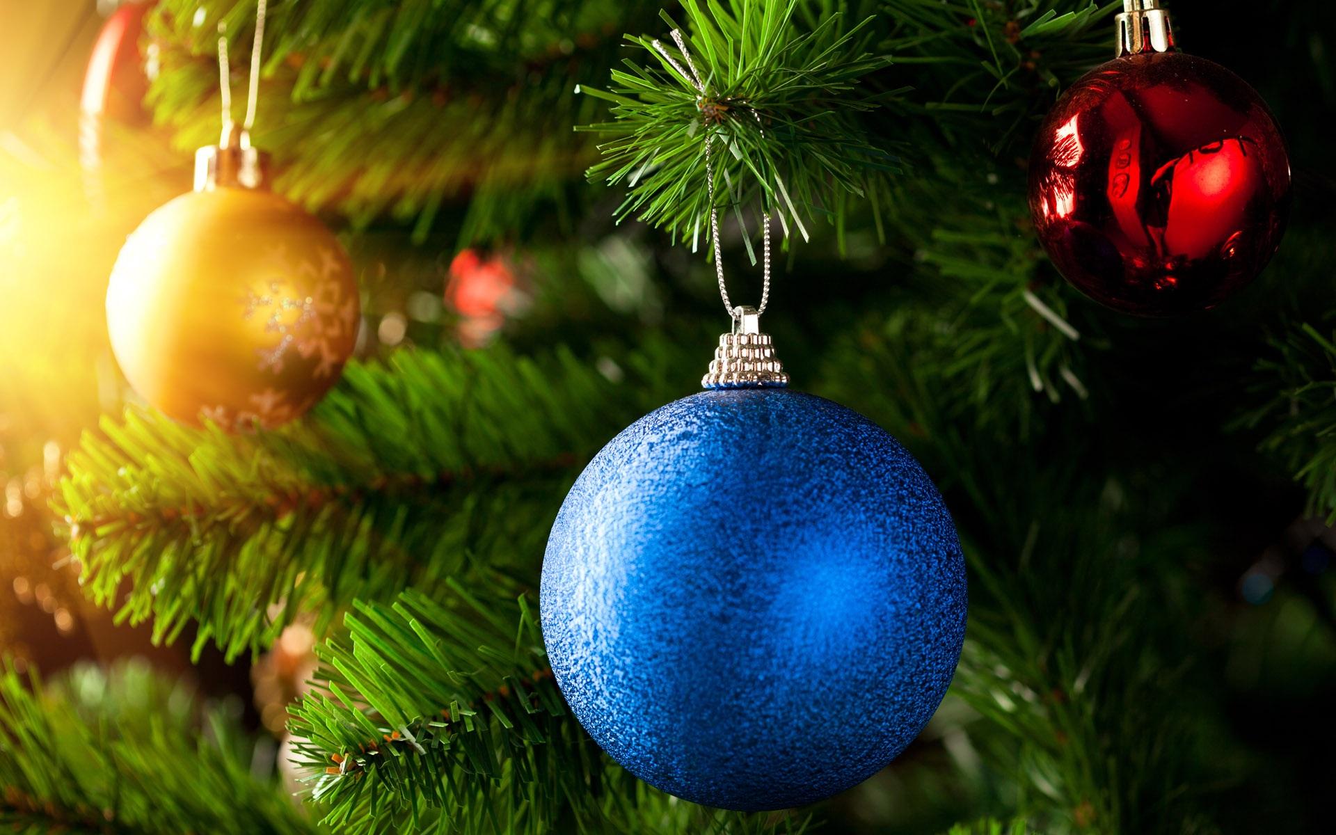 azul bola de navidad fondos de escritorio de vista previa
