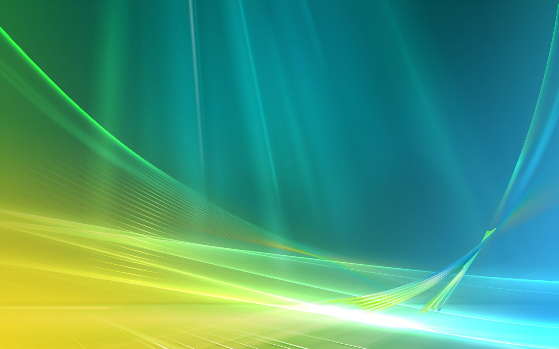 Download Wallpaper 1920x1200 Blue and green abstract space ...