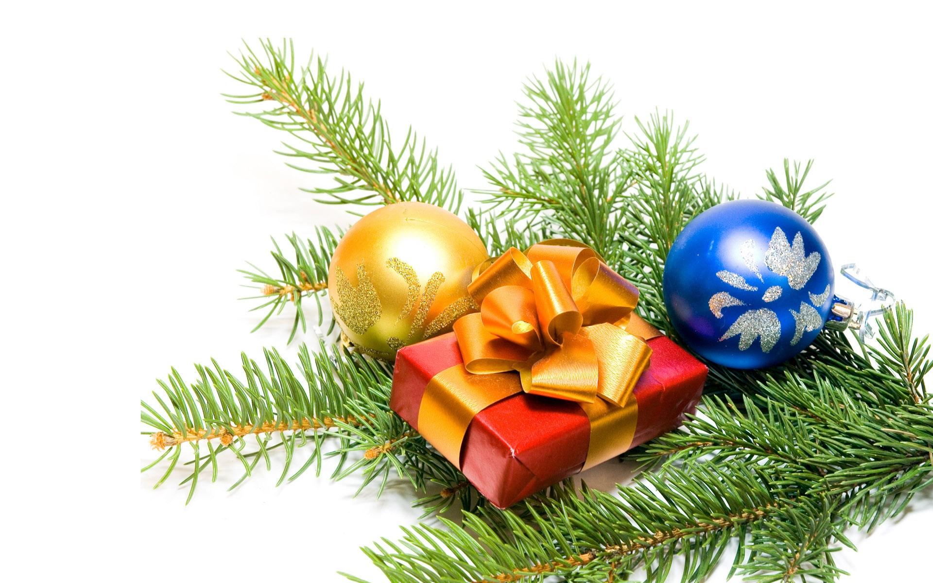 Adornos de Navidad y regalos Fondos de pantalla - 1920x1200