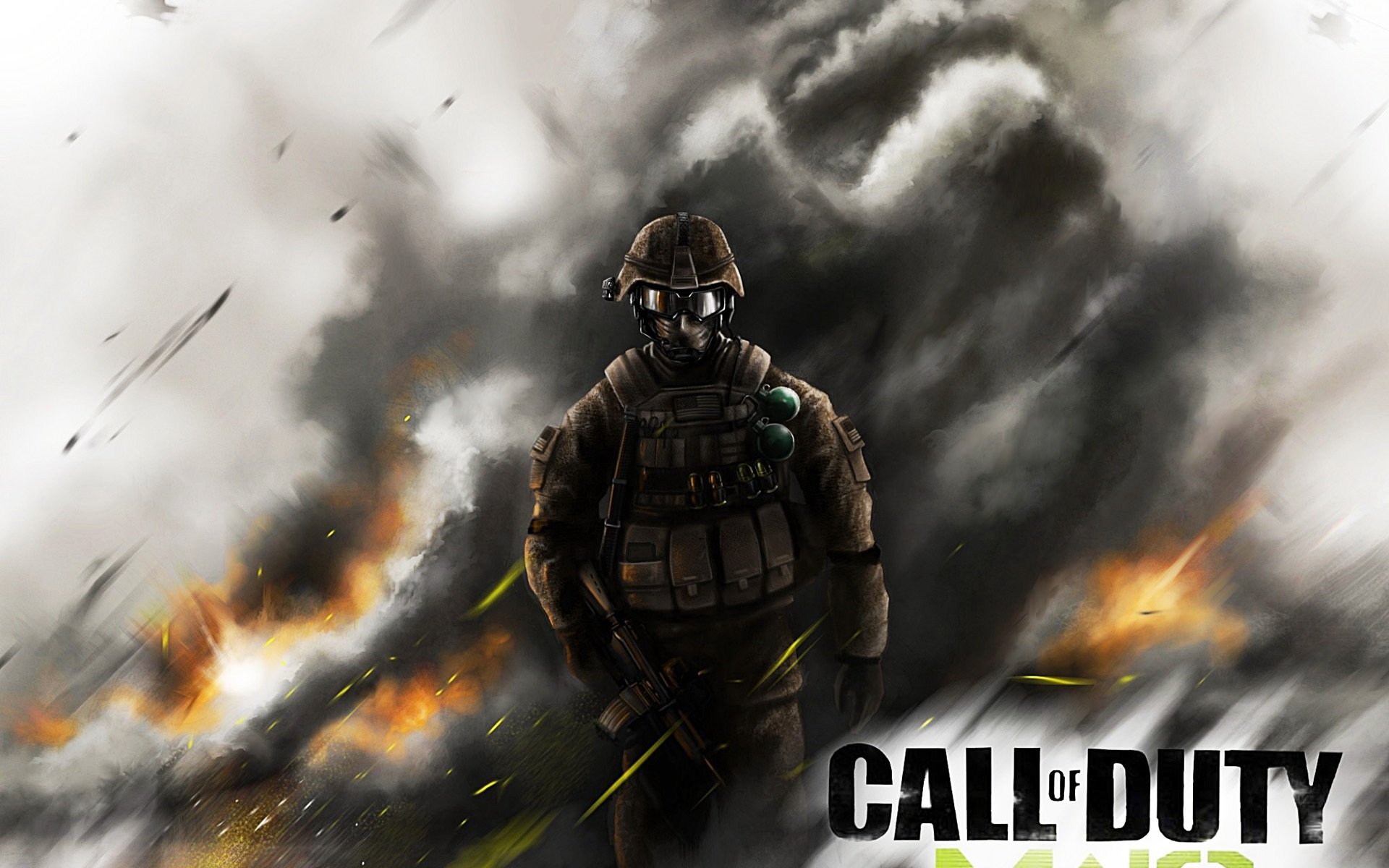 Wallpaper Pc Game Call Of Duty Modern Warfare 3 1920x1440 Hd