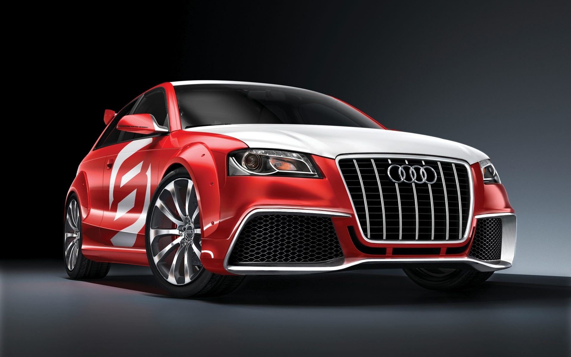 Wallpaper Cool Red Audi Car 1920x1200 Hd Picture Image