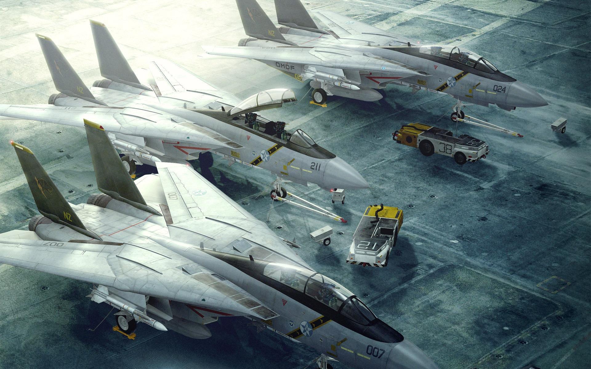 壁紙 F 14トムキャット戦闘機の滑走路 1920x1200 Hd 無料の