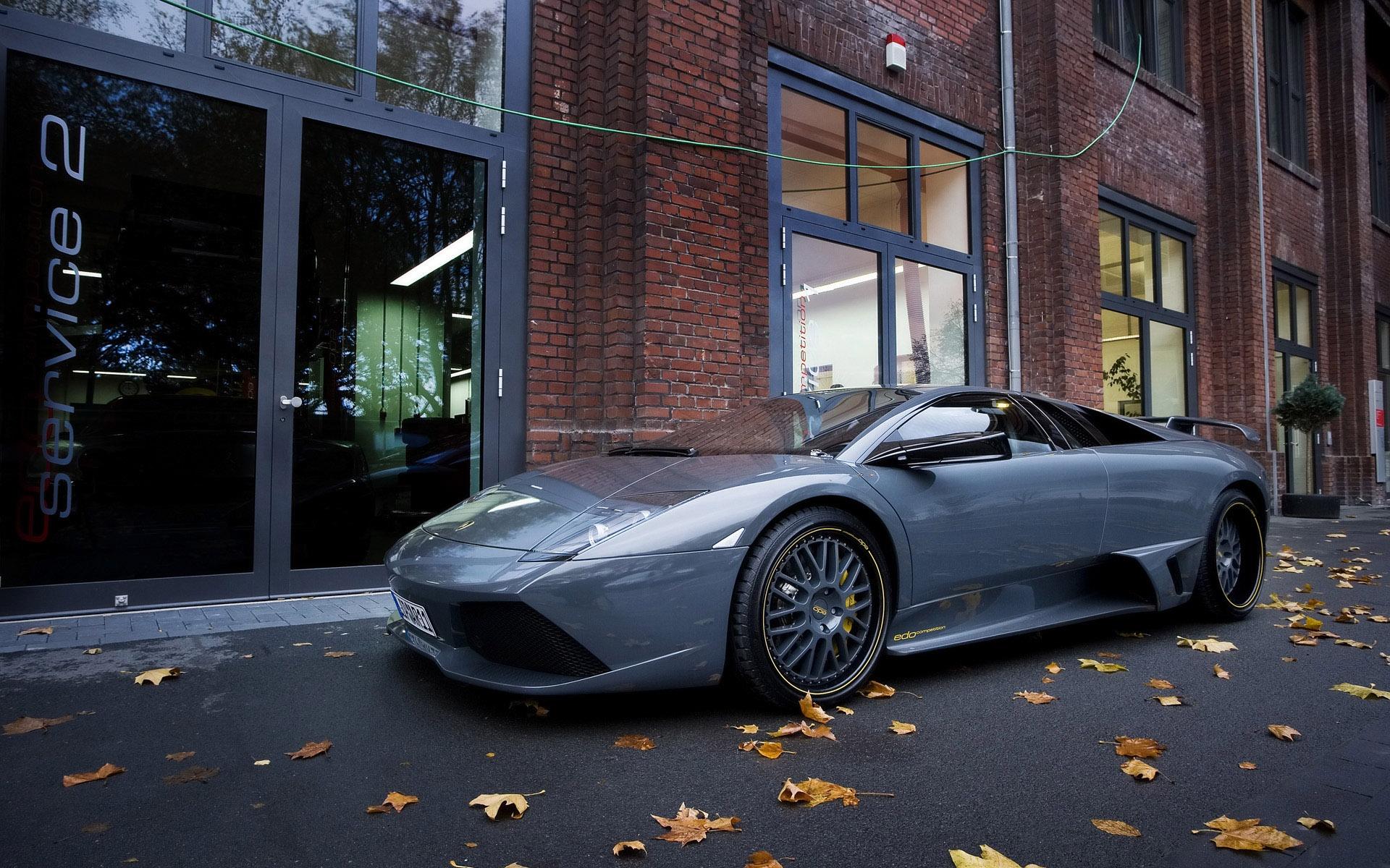 Wallpaper Dark Blue Lamborghini 1920x1200 Hd Picture Image