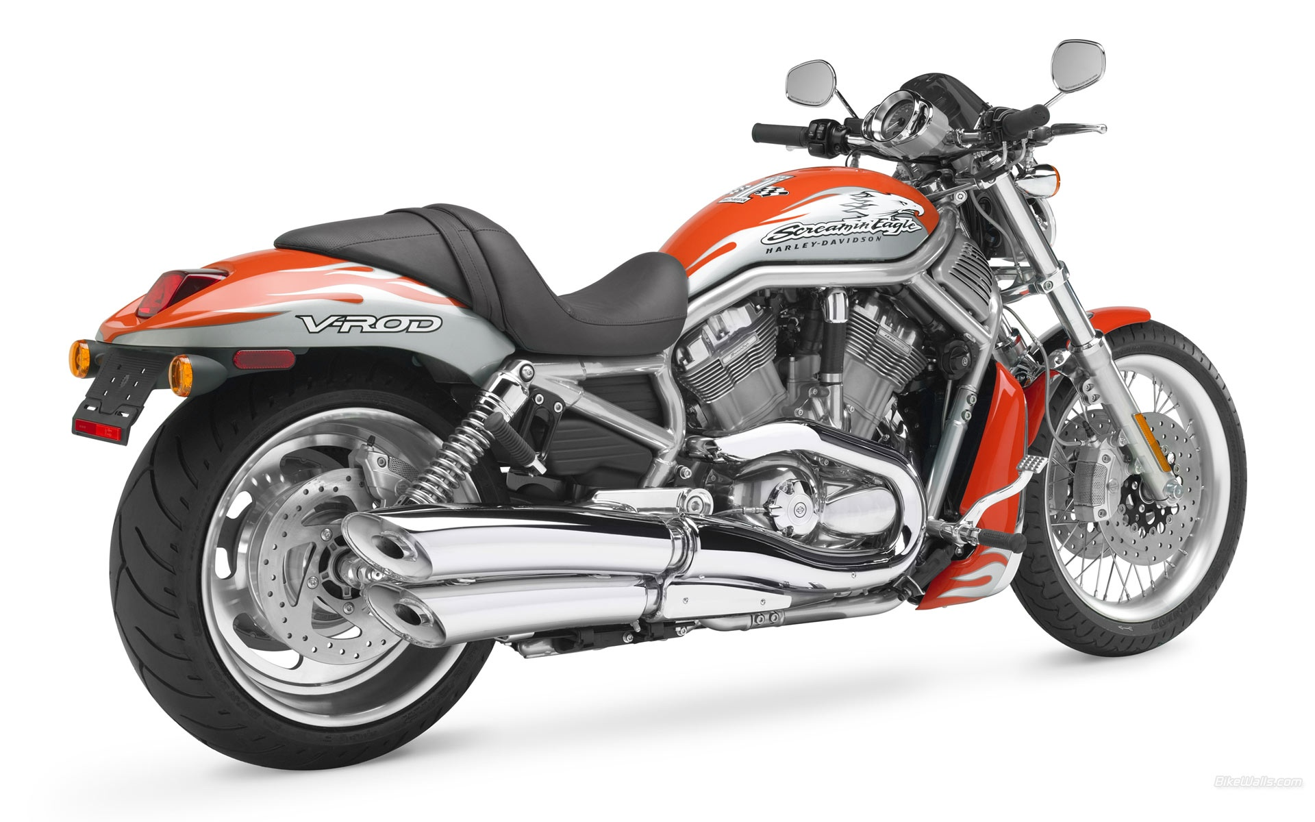Fondos De Pantalla Harley Davidson V Rod Motocicleta