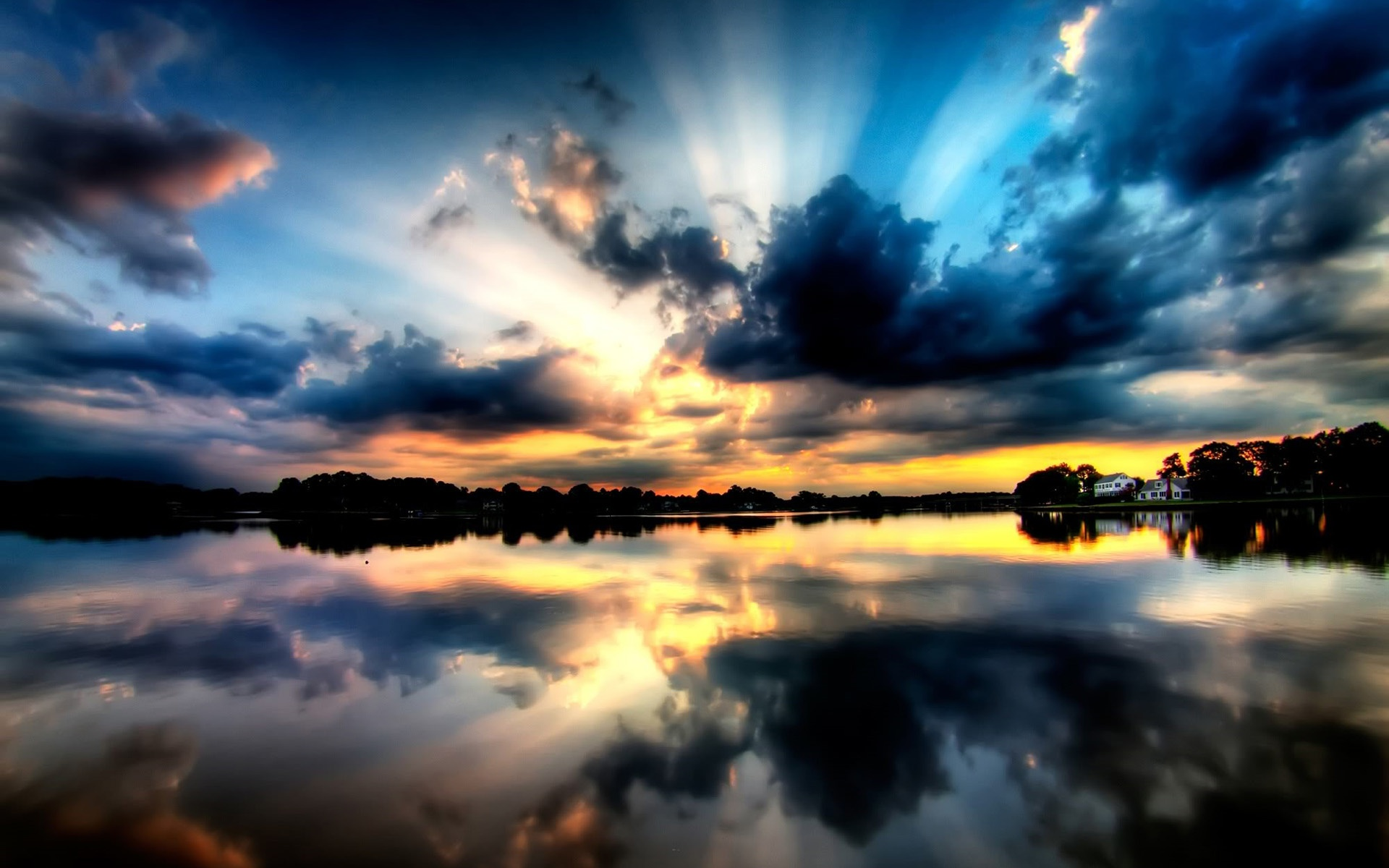 壁紙 美しい夕焼け 壁紙 1920x1200 壁紙 夕焼け空 と 夕日