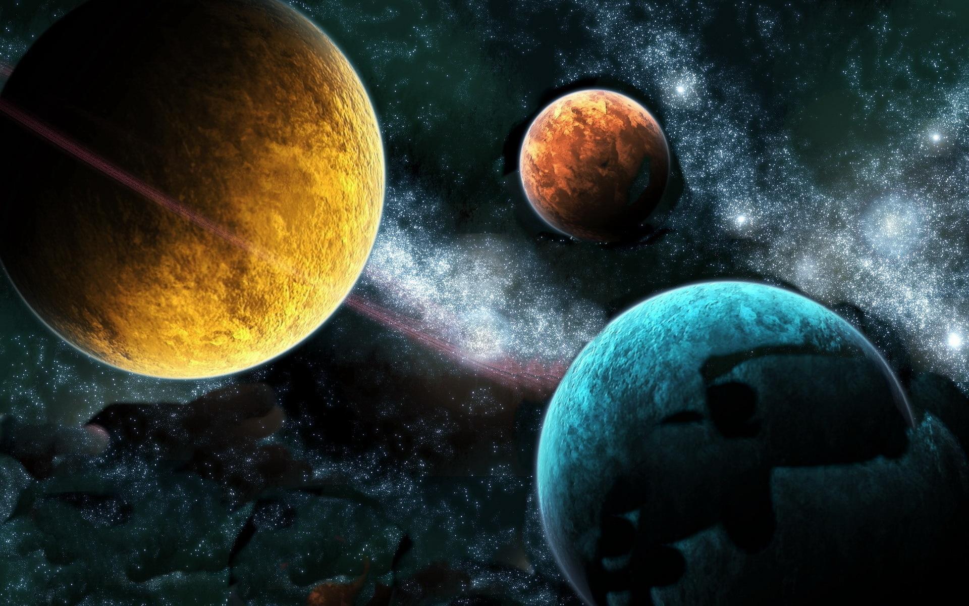 Los Tres Planetas Fondos