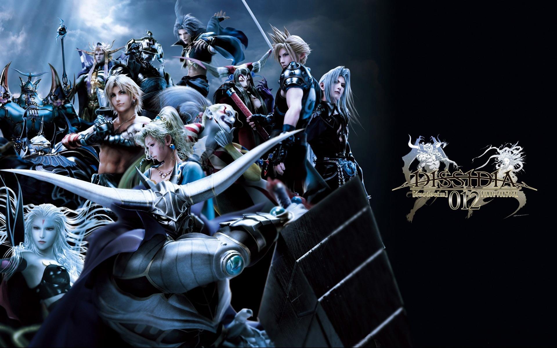 Wallpaper Dissidia 012 Duodecim Final Fantasy 1920x1200 HD Picture