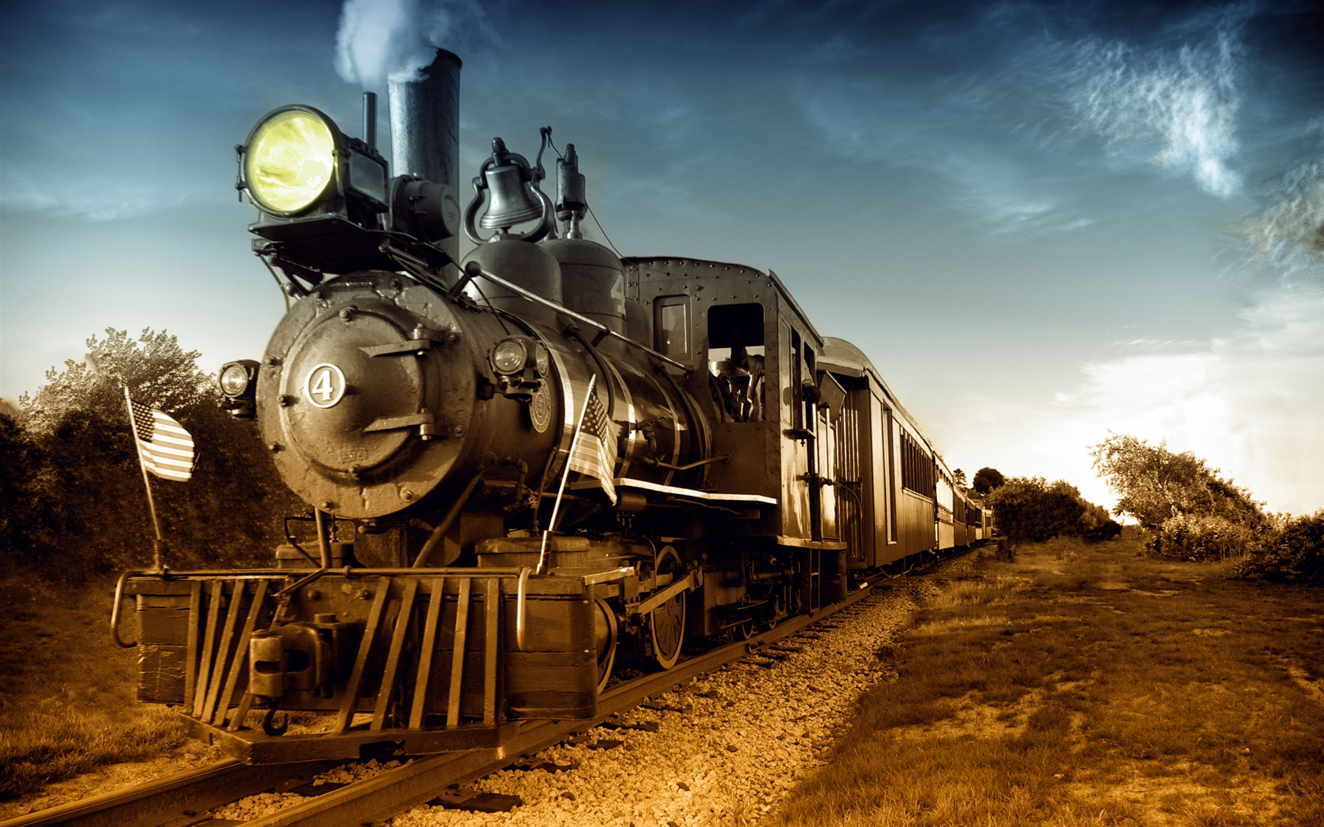 1920x1200 trains steam - photo #19