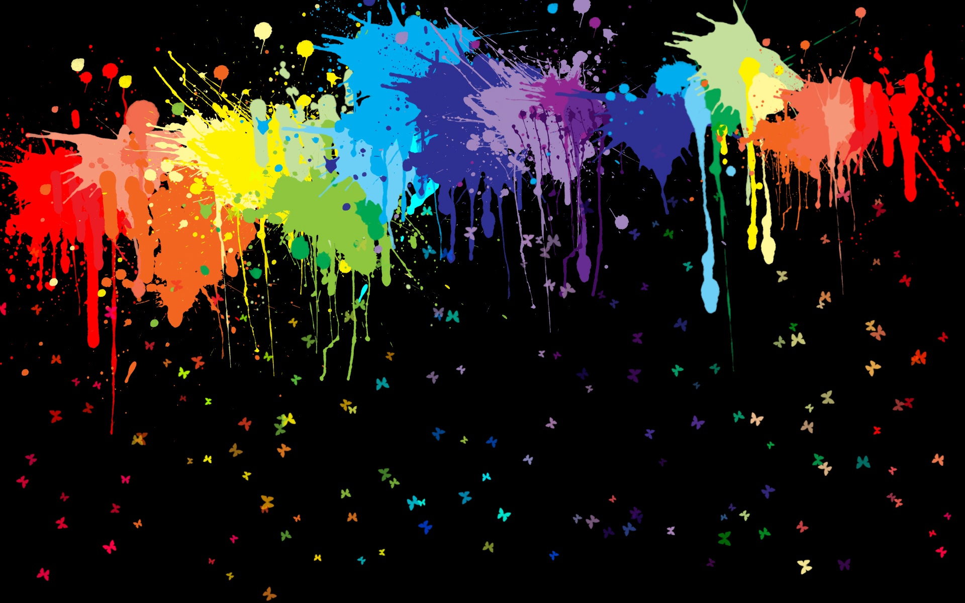 Salpicaduras de pintura abstracta fondos de pantalla 1920x1200 fondos de descarga - Salpicaduras de pintura ...