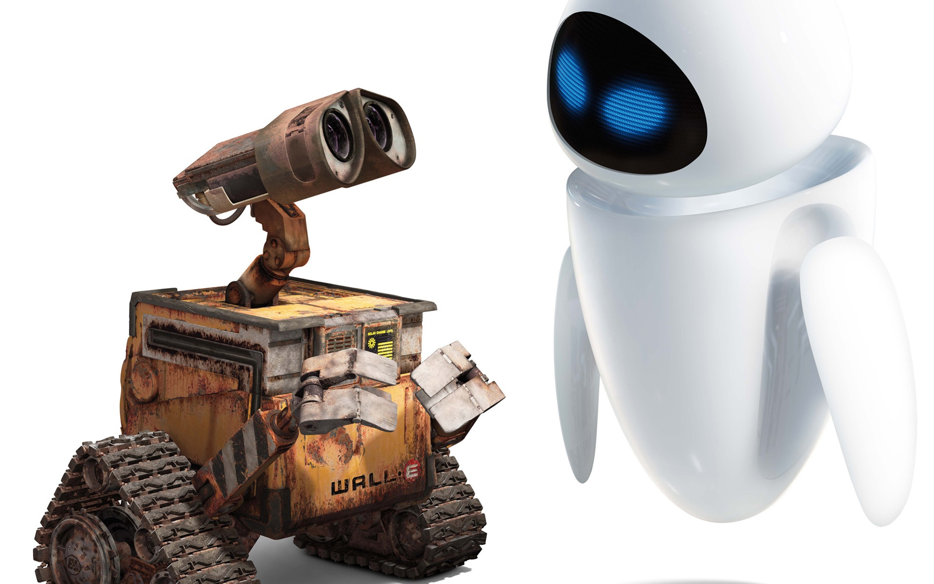 love and wall e Wall-e and that is all that love's about the sole living creature on the earth sat amongst his beautiful piles of bewildering clutter.