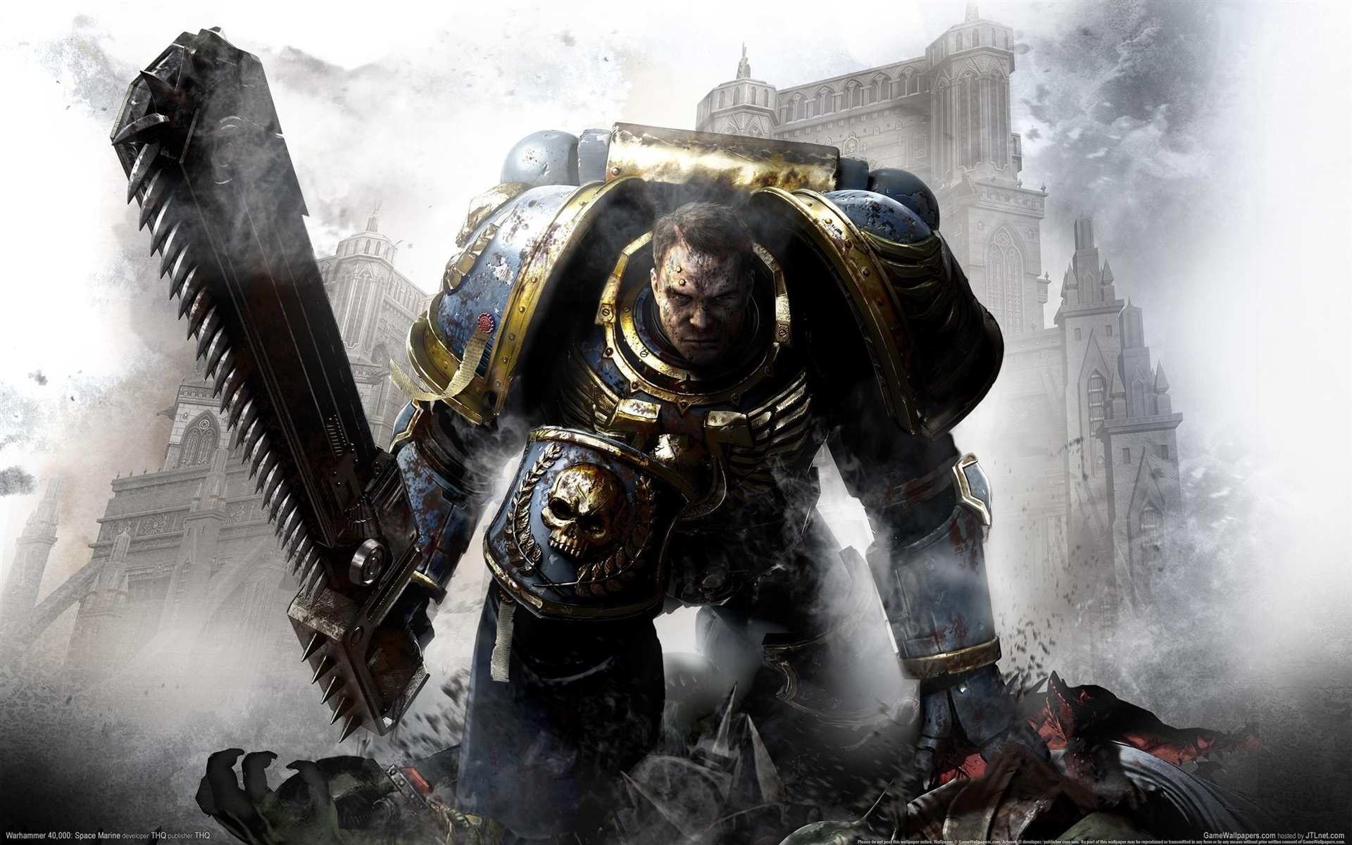 Warhammer 40000: Space Marine wallpaper - 1920x1200