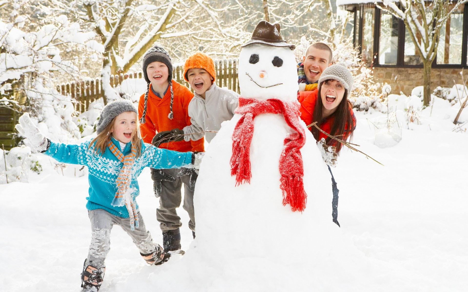Invierno divertido mu  241 eco de nieve Fondos de pantalla - 1920x1200Unique Family Christmas Card Ideas