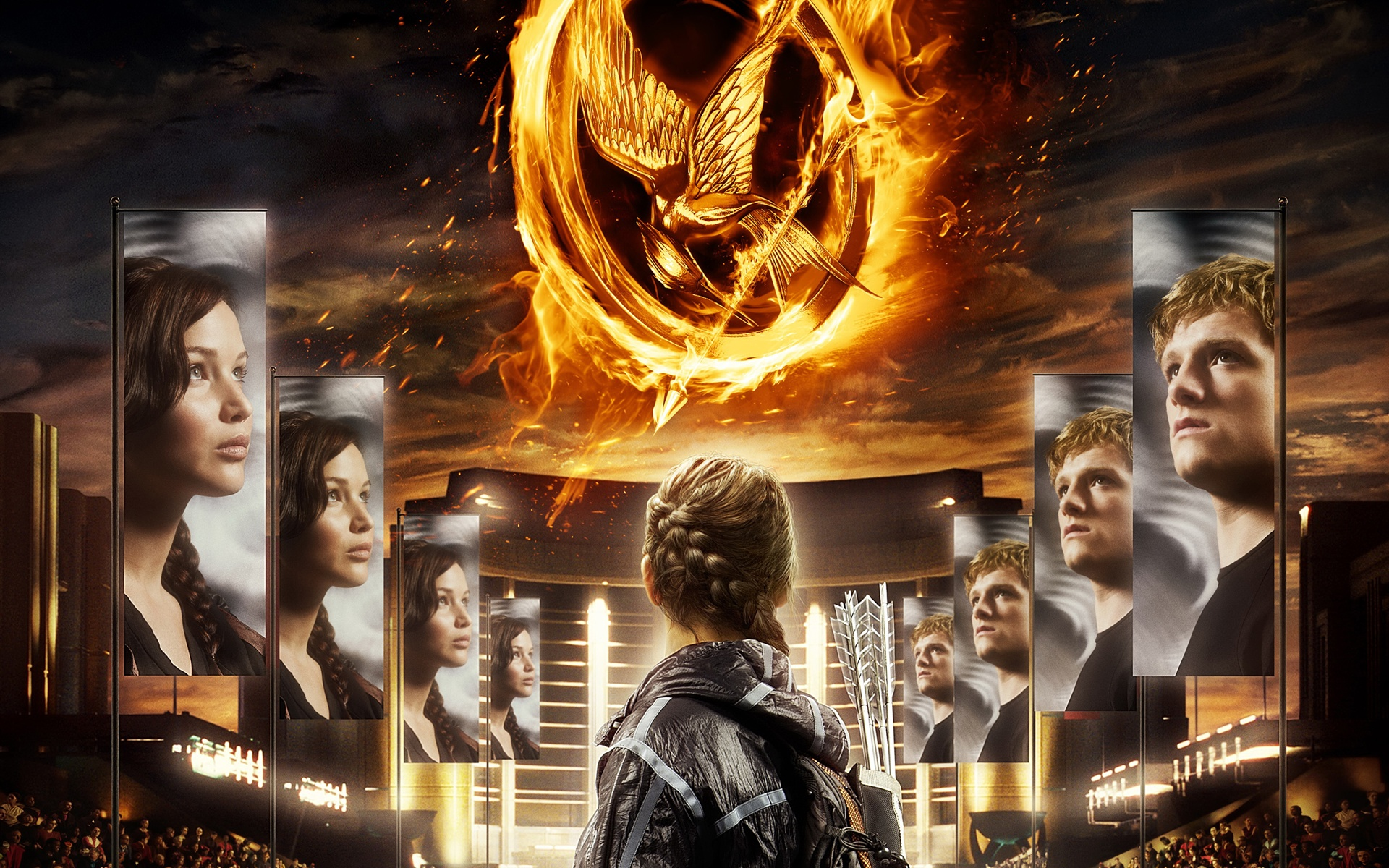 The Hunger Games 2012 wallpaper - 1920x1200
