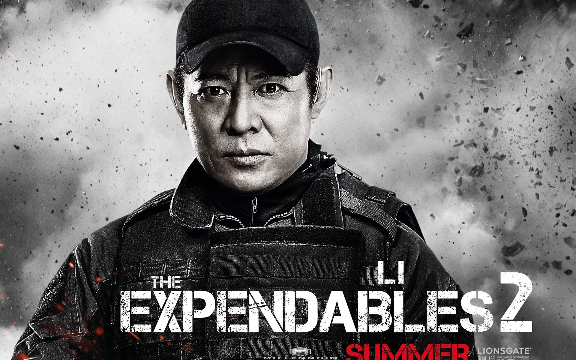 Wallpaper Jet Li in The Expendables 2 1920x1440 HD Picture