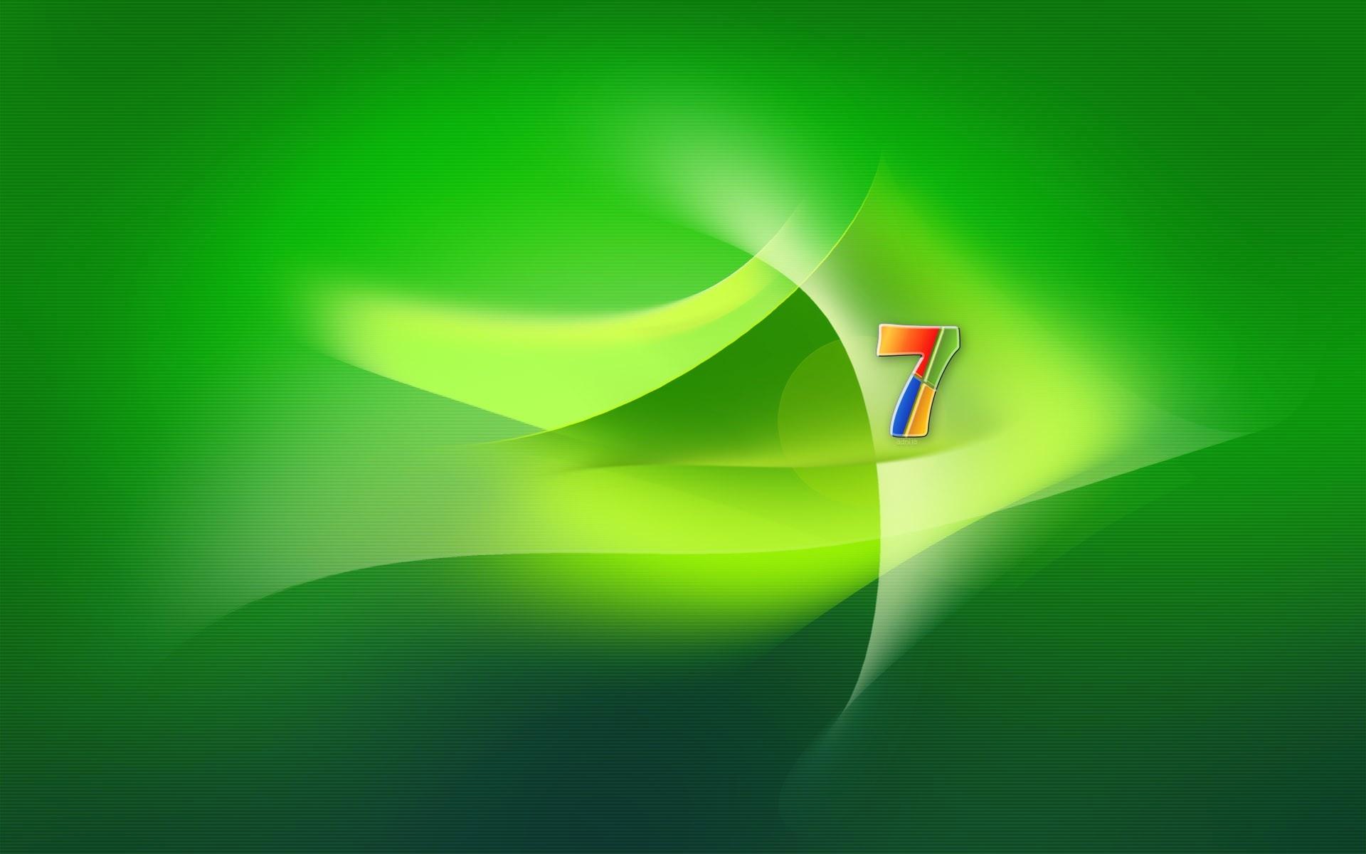 壁紙 Windows 7の緑の空間 1920x1200 Hd 無料のデスクトップの背景 画像