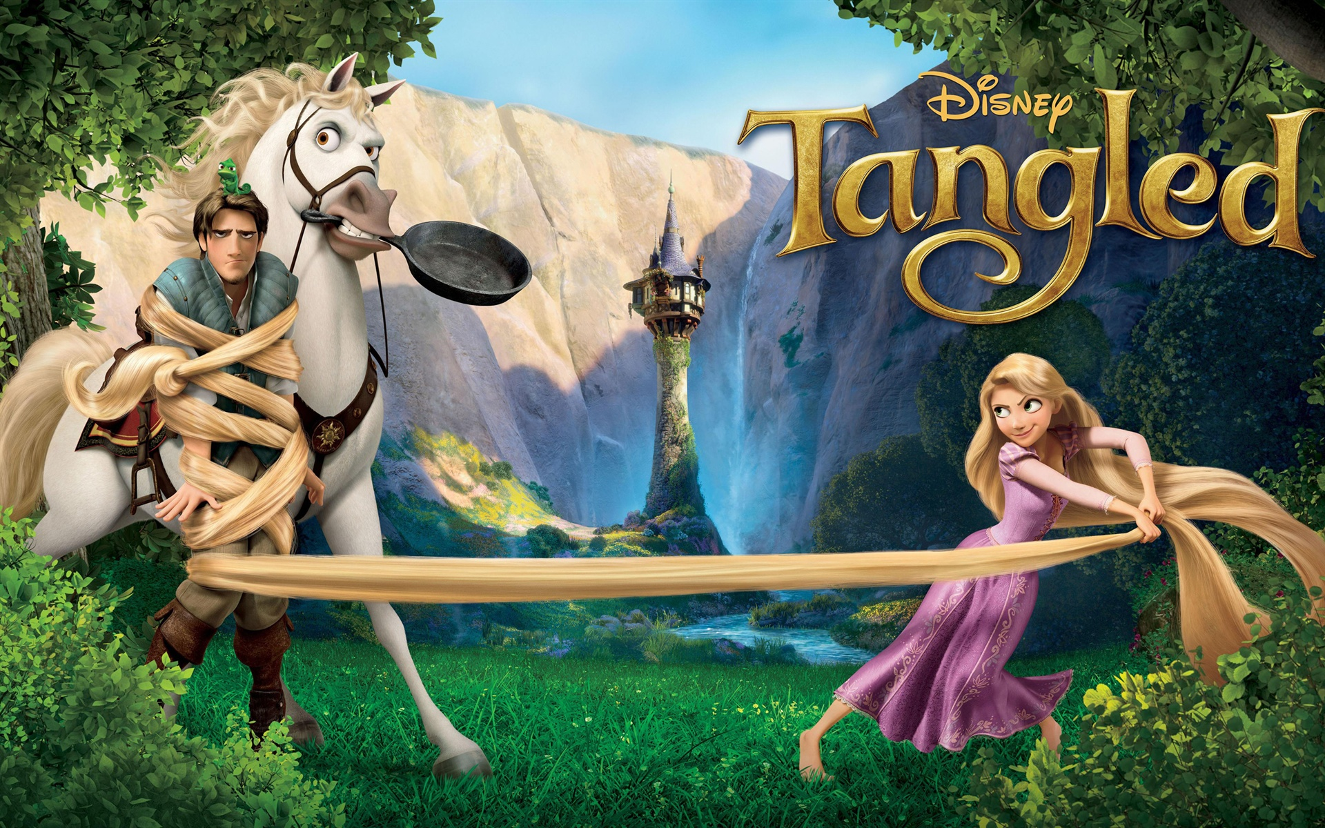Wallpaper Tangled Hd 2560x1600 Hd Picture Image