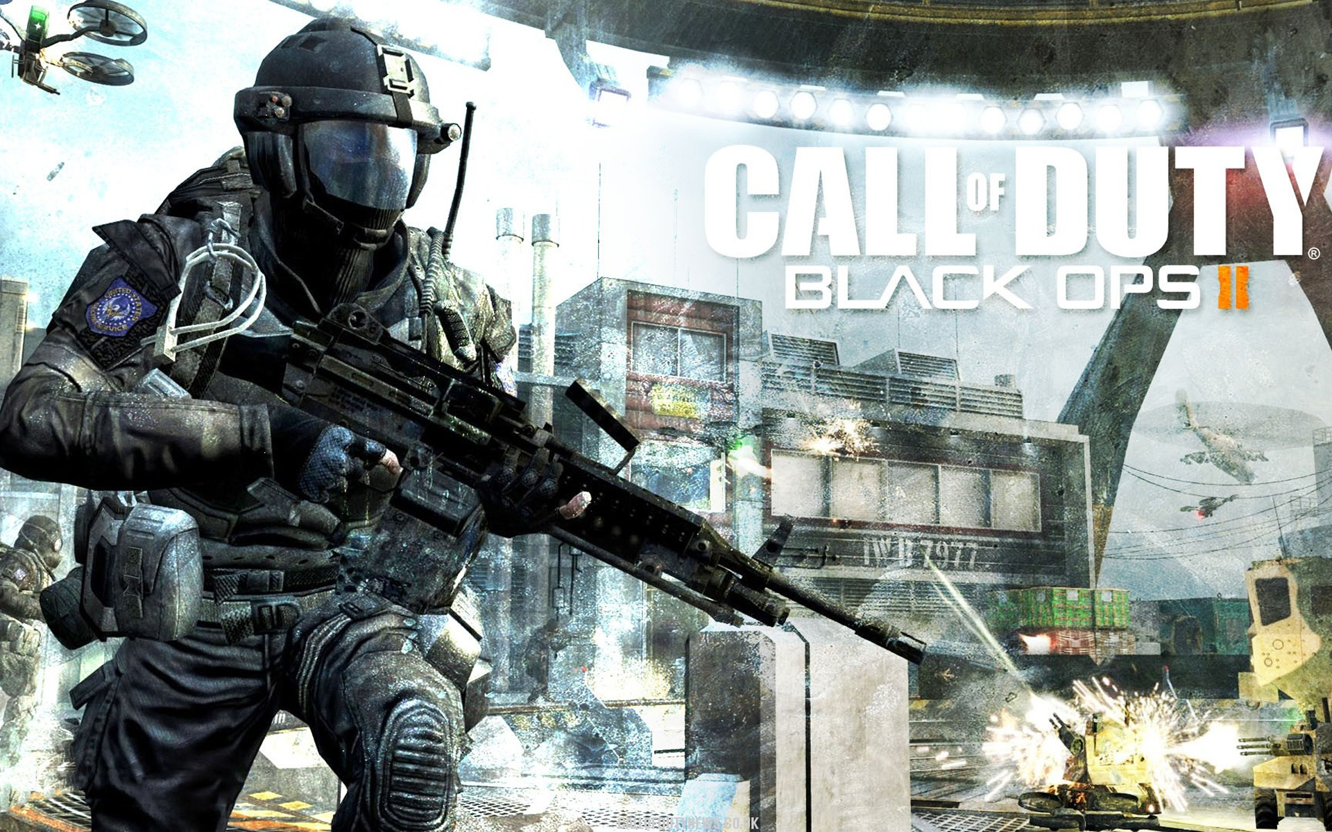 Wallpaper 2012 Call Of Duty Black Ops Ii Hd 1920x1200 Hd Picture