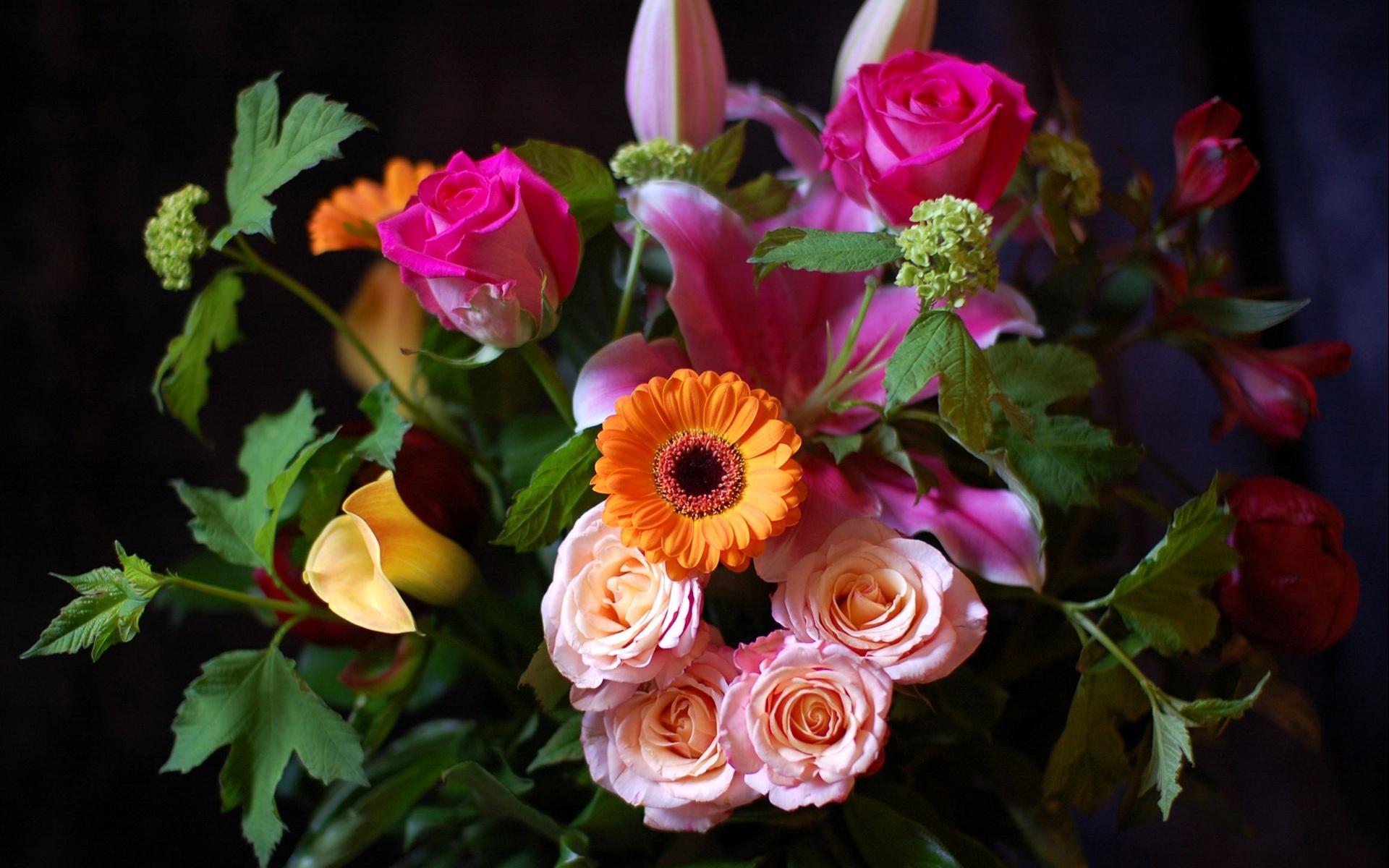 Красивый букет цветов бесплатно