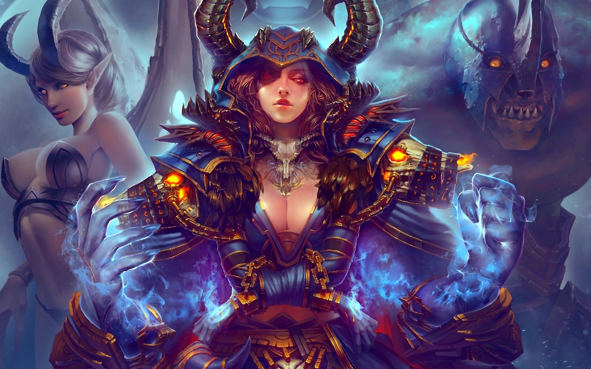 Fondos De Pantalla World Of Warcraft Pintura Del Arte