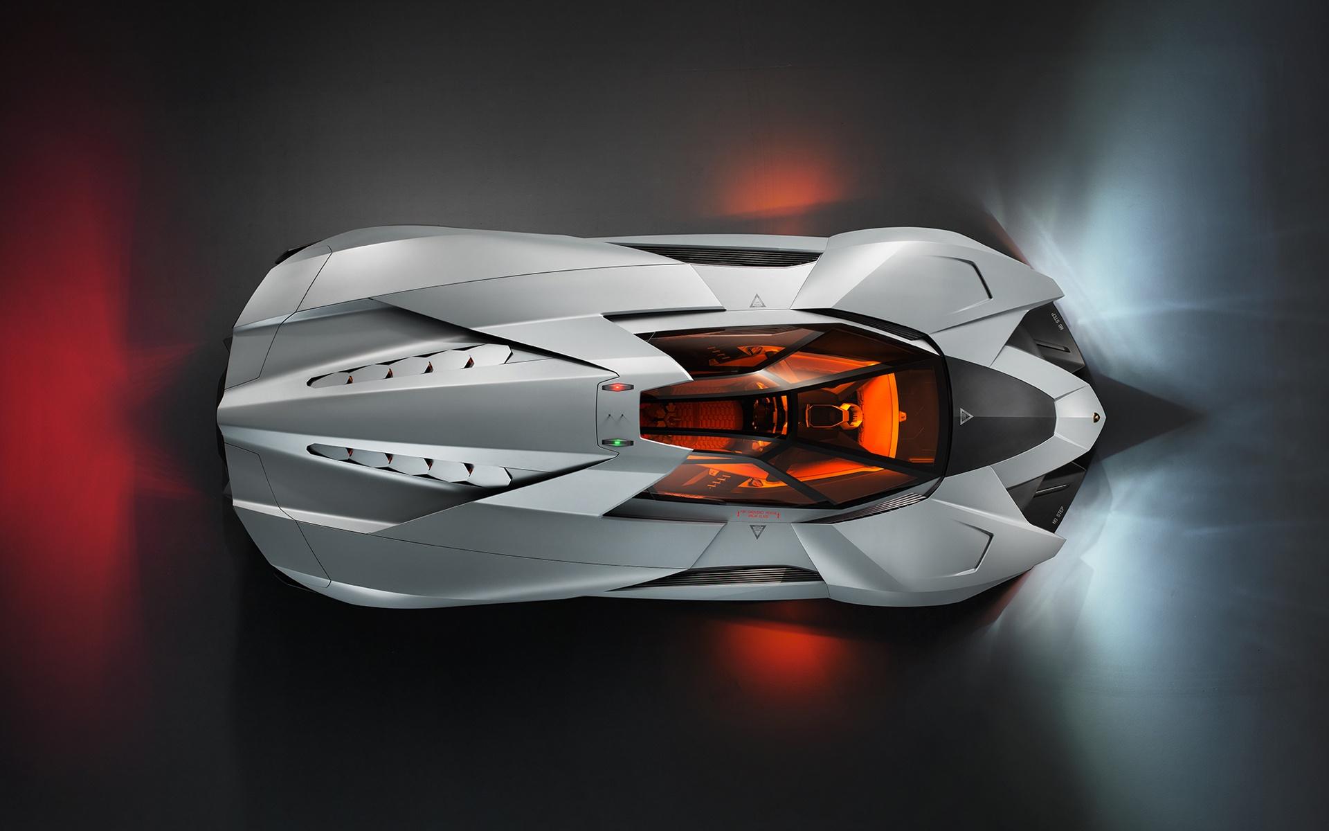 Wallpaper Lamborghini Egoista Sport Car Top View 1920x1200 Hd