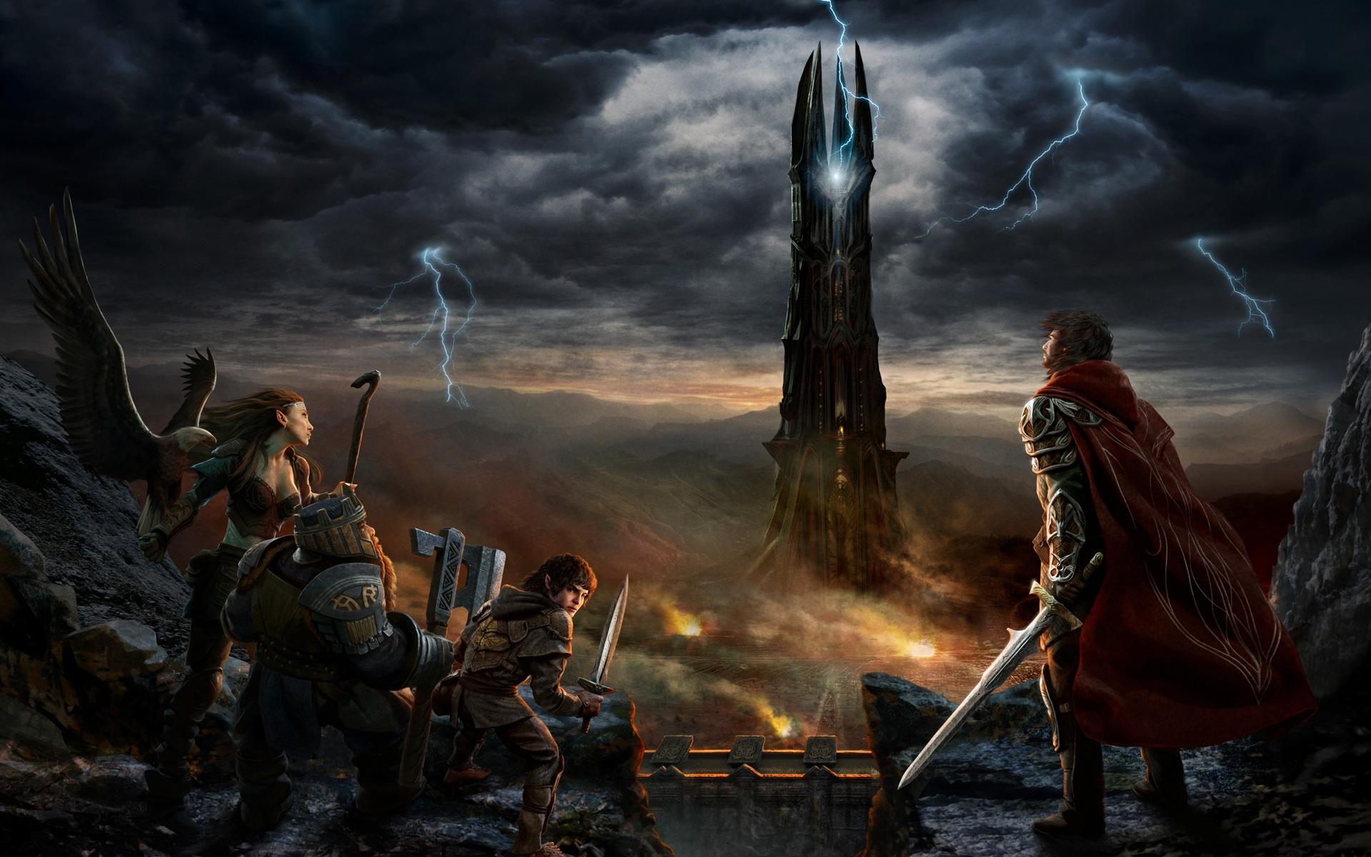 design de qualité le dernier grande variété de modèles Fonds d'écran Seigneur des Anneaux Online: Rise of Isengard ...