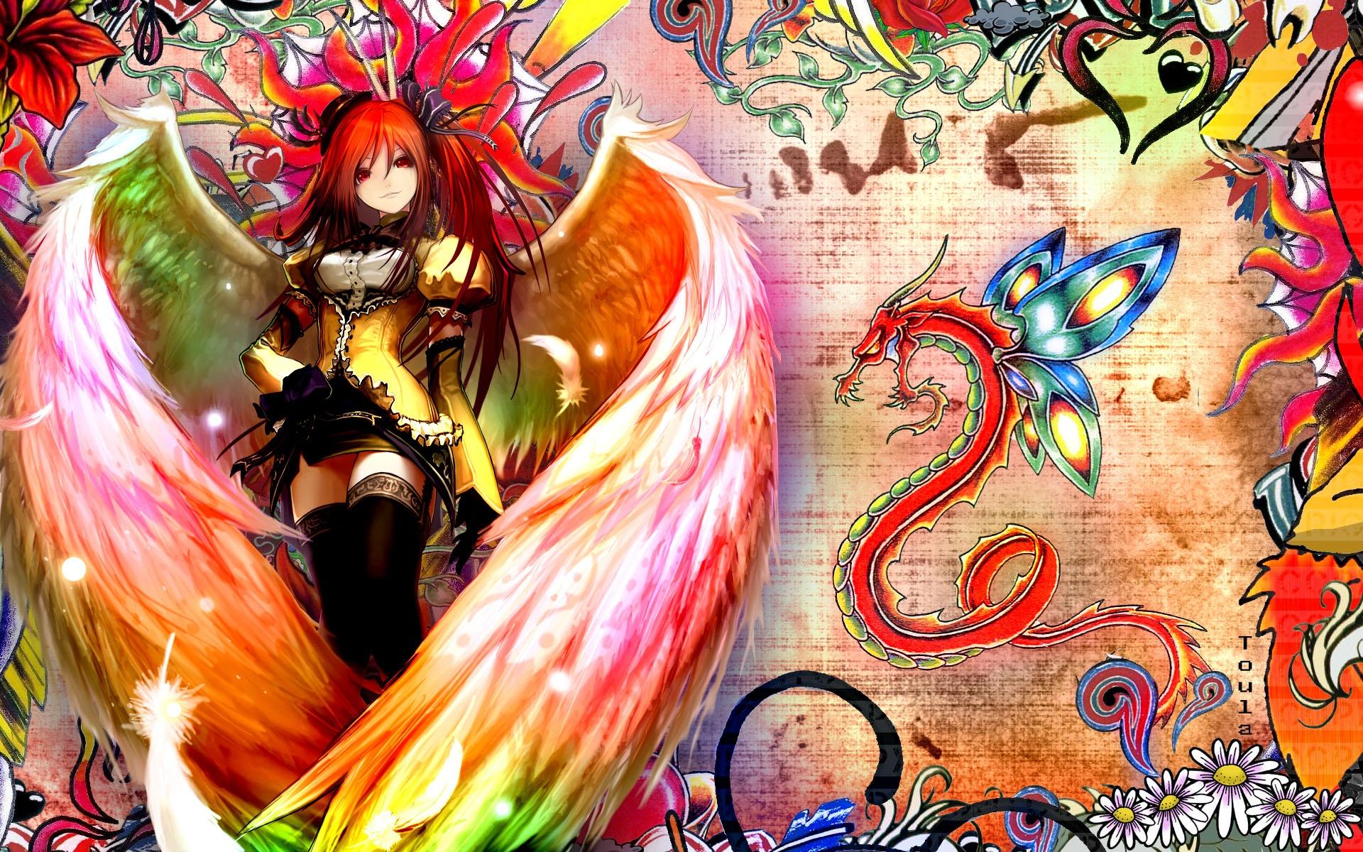 壁紙 灼眼のシャナ アニメ天使少女 19x10 Hd 無料のデスクトップの背景 画像