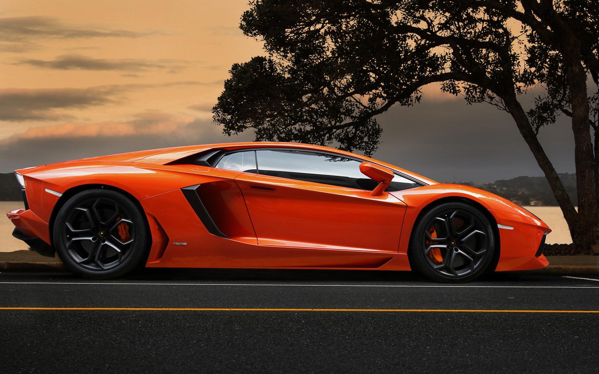 автомобиль оранжевый бесплатно
