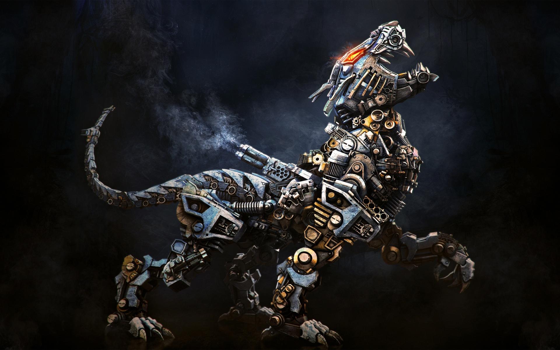 Kreative Bilder Roboter Tier Hintergrundbilder