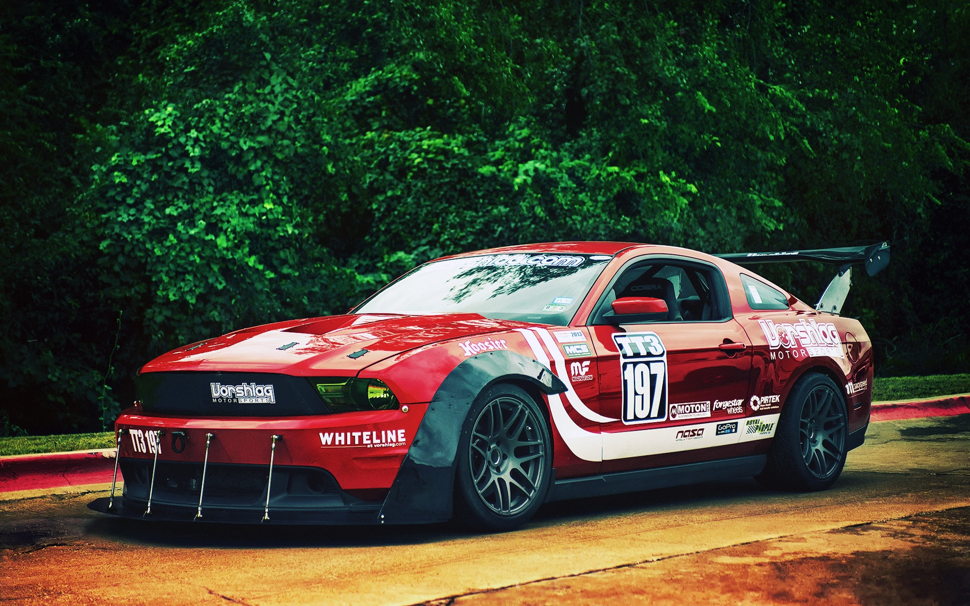 Mustang Ii Race Car