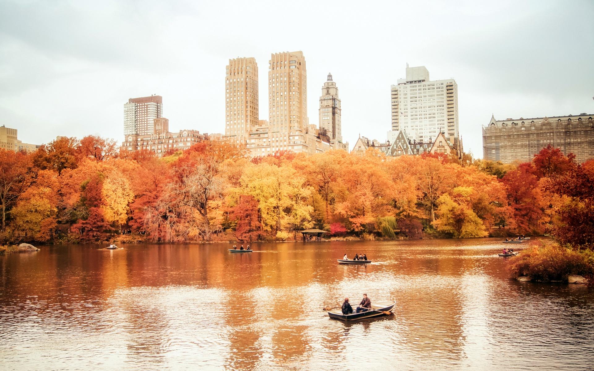 Обои manhattan, центральный парк, new york city. Города foto 11