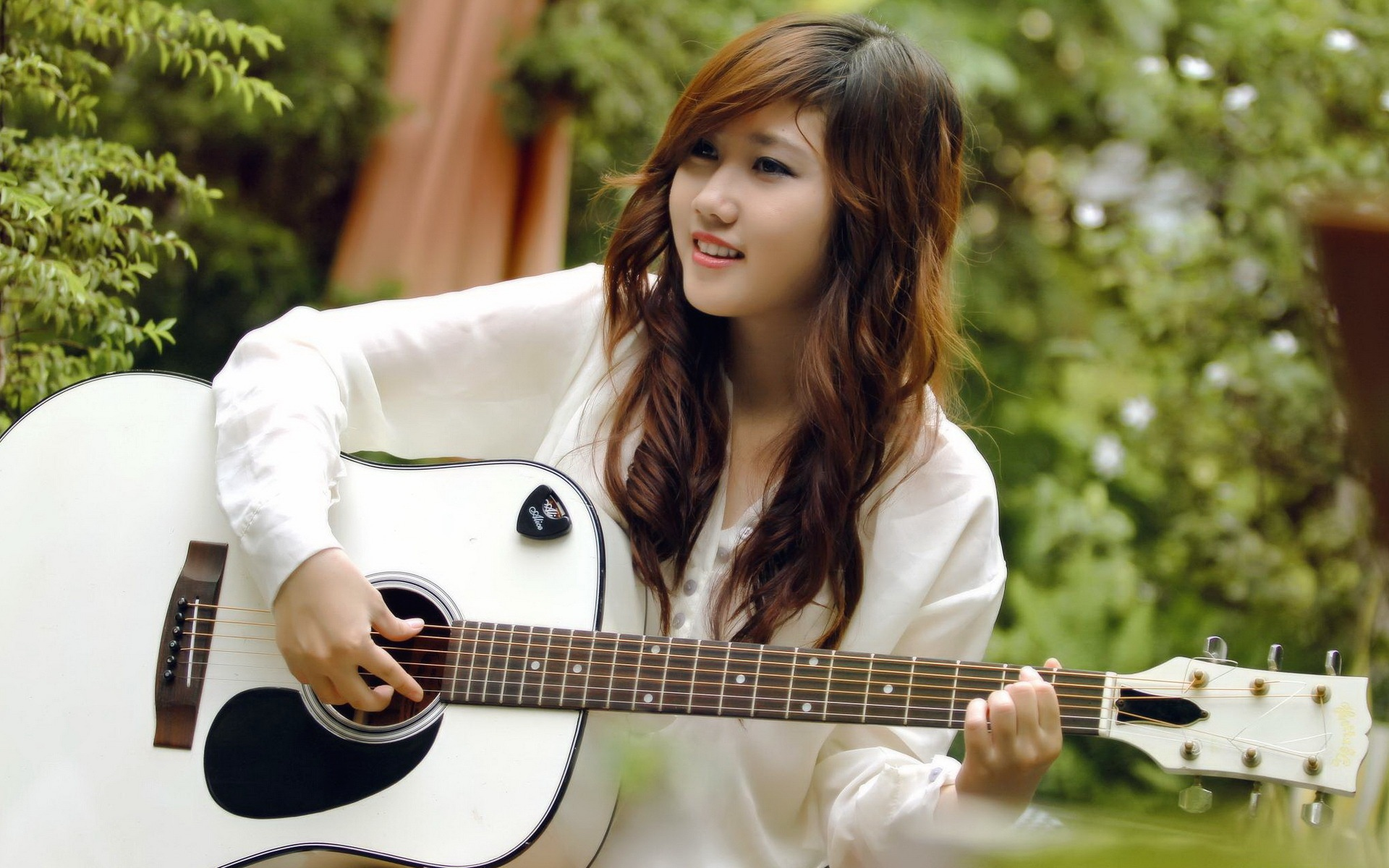Guitare Sourire... Cute Korean Baby Wallpapers