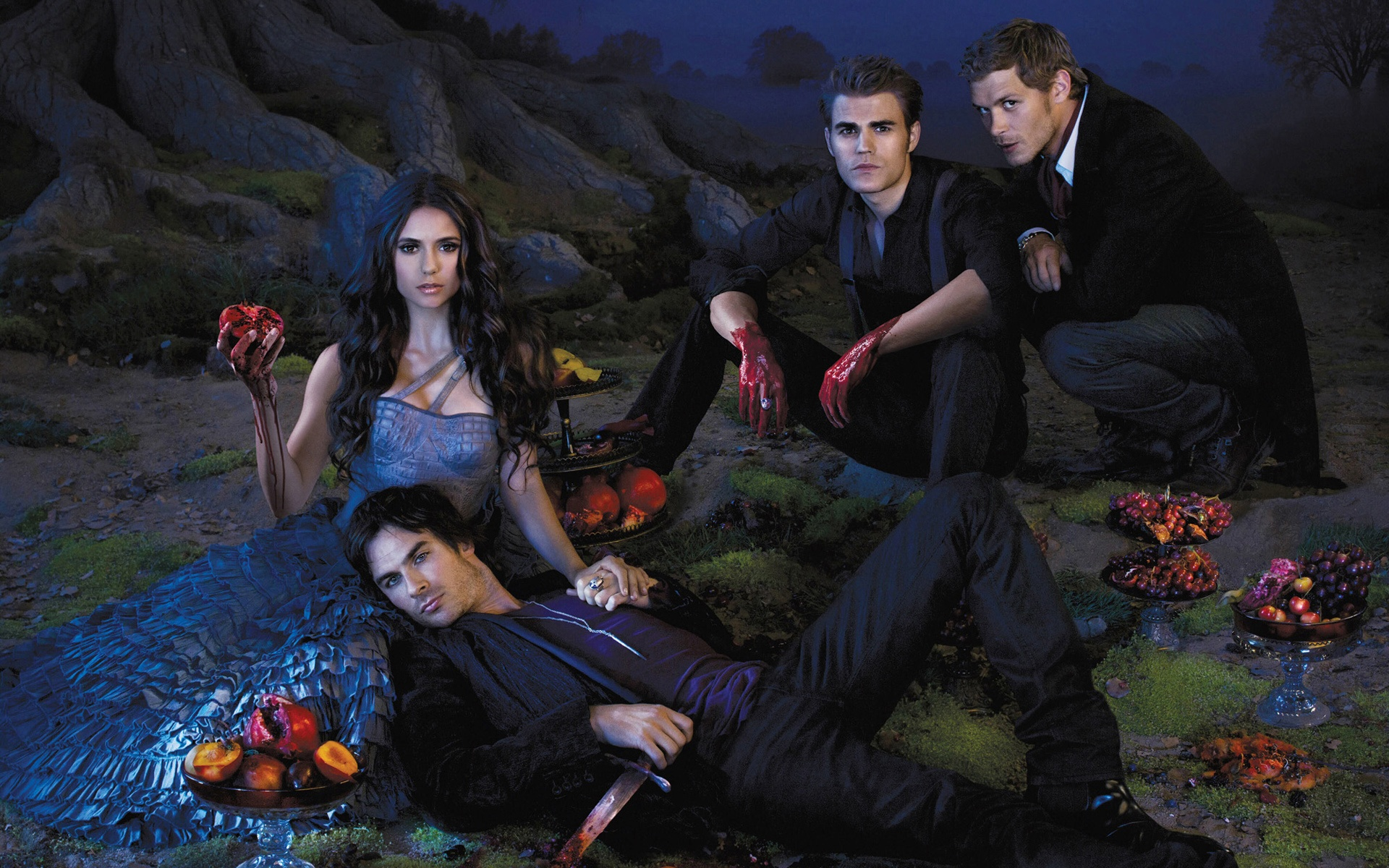 Wallpaper The Vampire Diaries 2013 Tv Series 1920x1200 Hd Picture