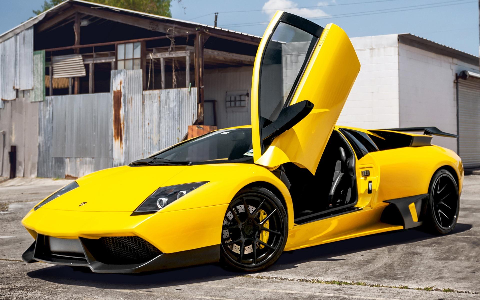 Car Yellow Lamborghini Hot Girls Wallpaper