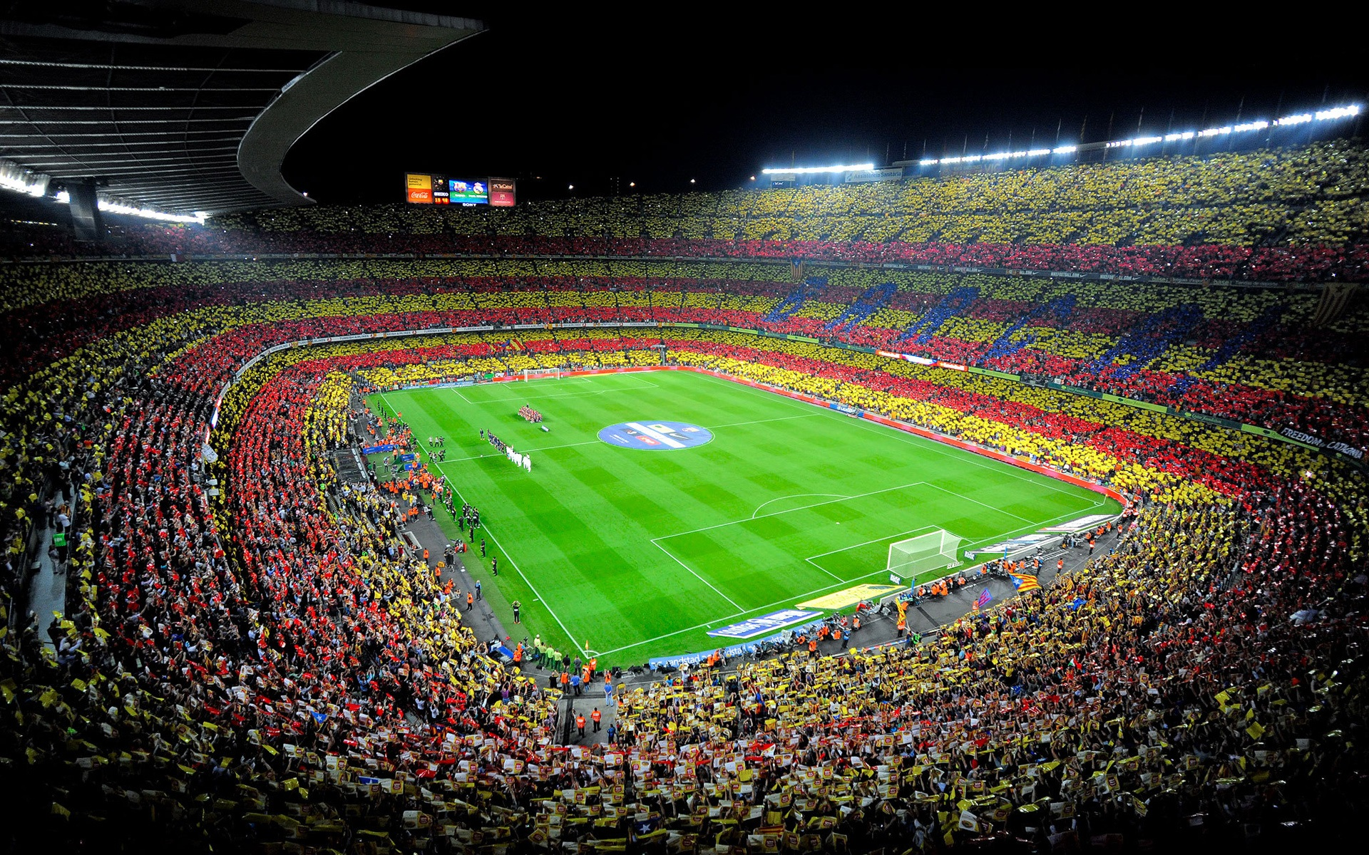 Fondos De Pantalla Camp Nou España El Fc Barcelona