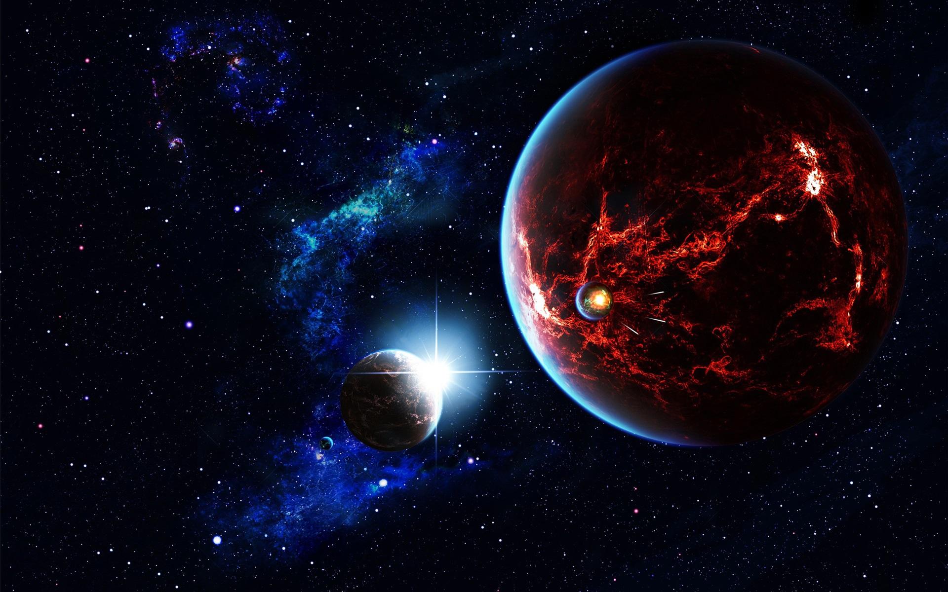 Papéis De Parede Espaço, Estrelas, Universo, Planeta