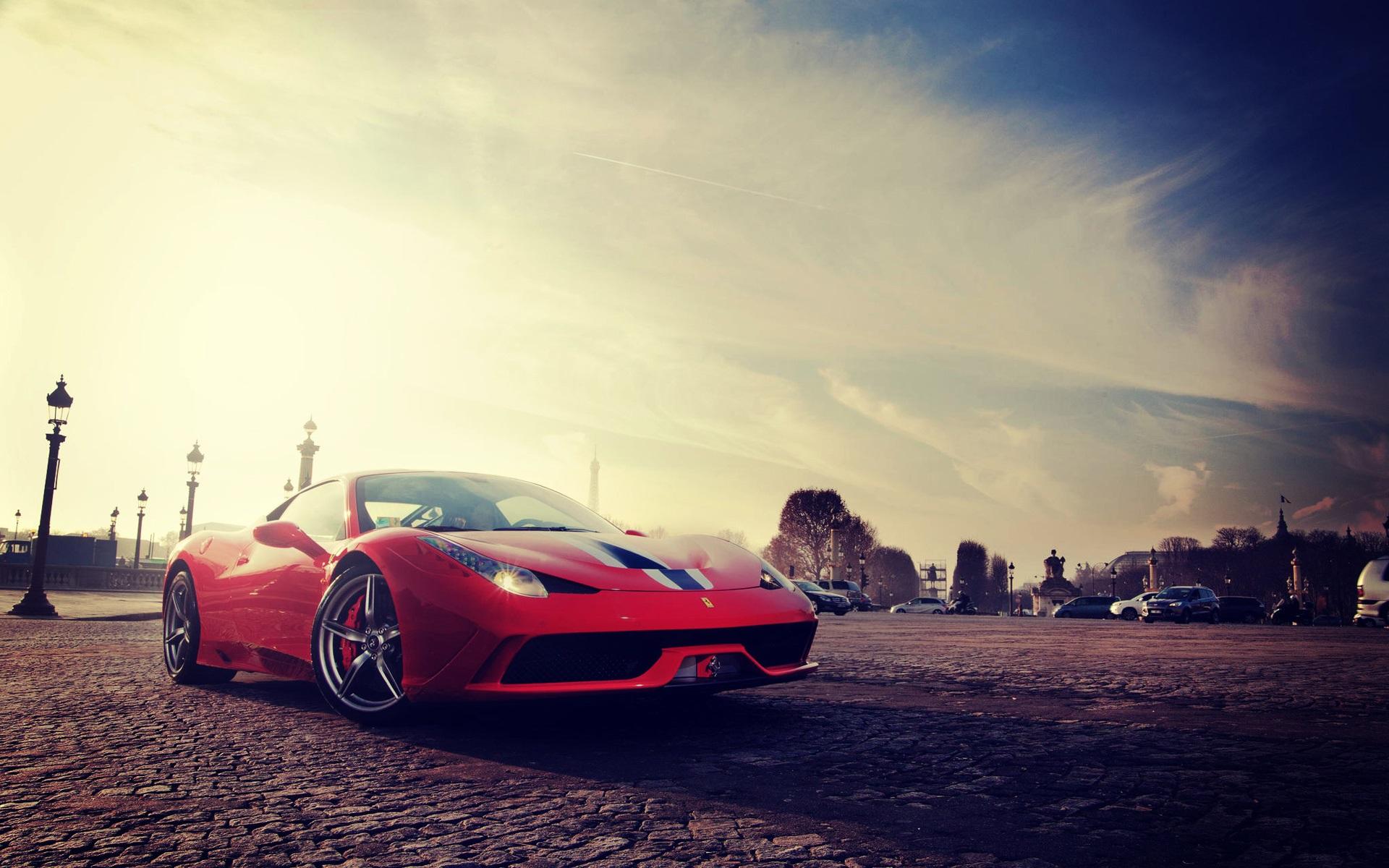Fondos De Pantalla Ferrari 458 Speciale Vista Frontal