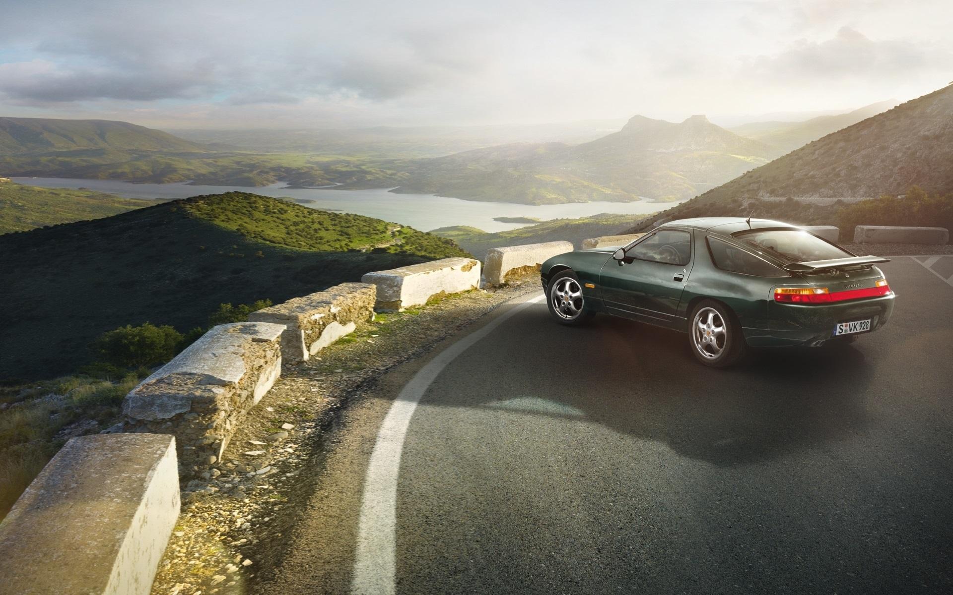 Wallpaper Porsche 928 Gts 1991 Green Car 1920x1200 Hd Picture Image