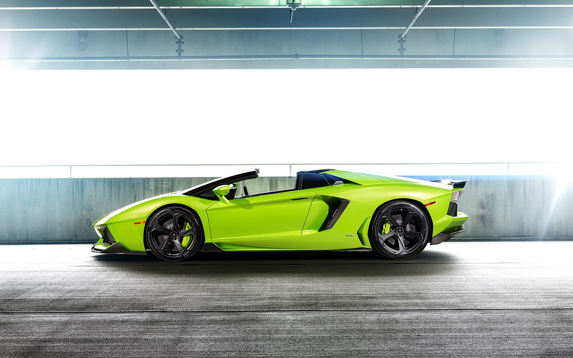 Wallpaper lamborghini aventador lp 740 green supercar side view 1920x1200 hd picture image - Car side view wallpaper ...