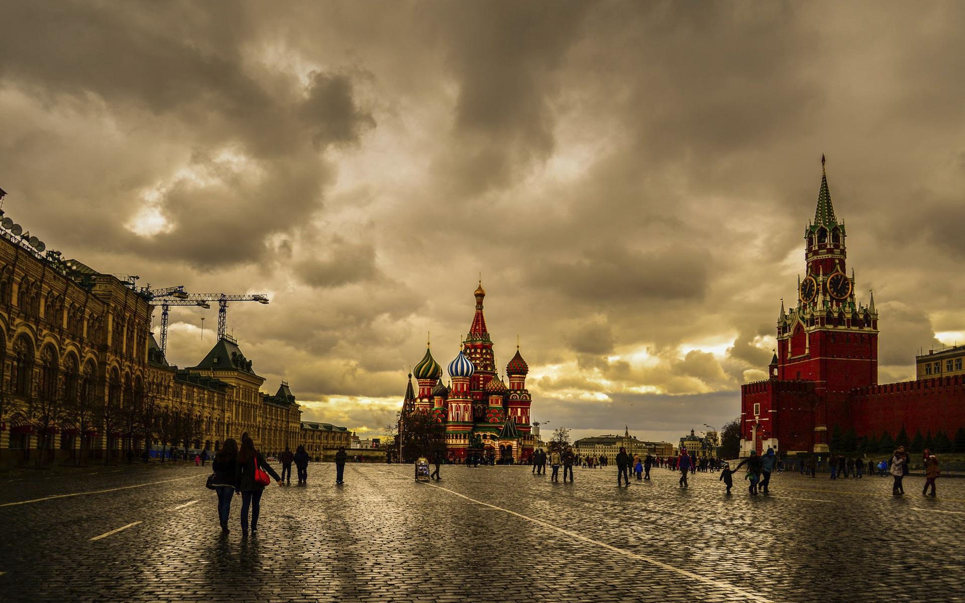 Москва обои рабочий стол