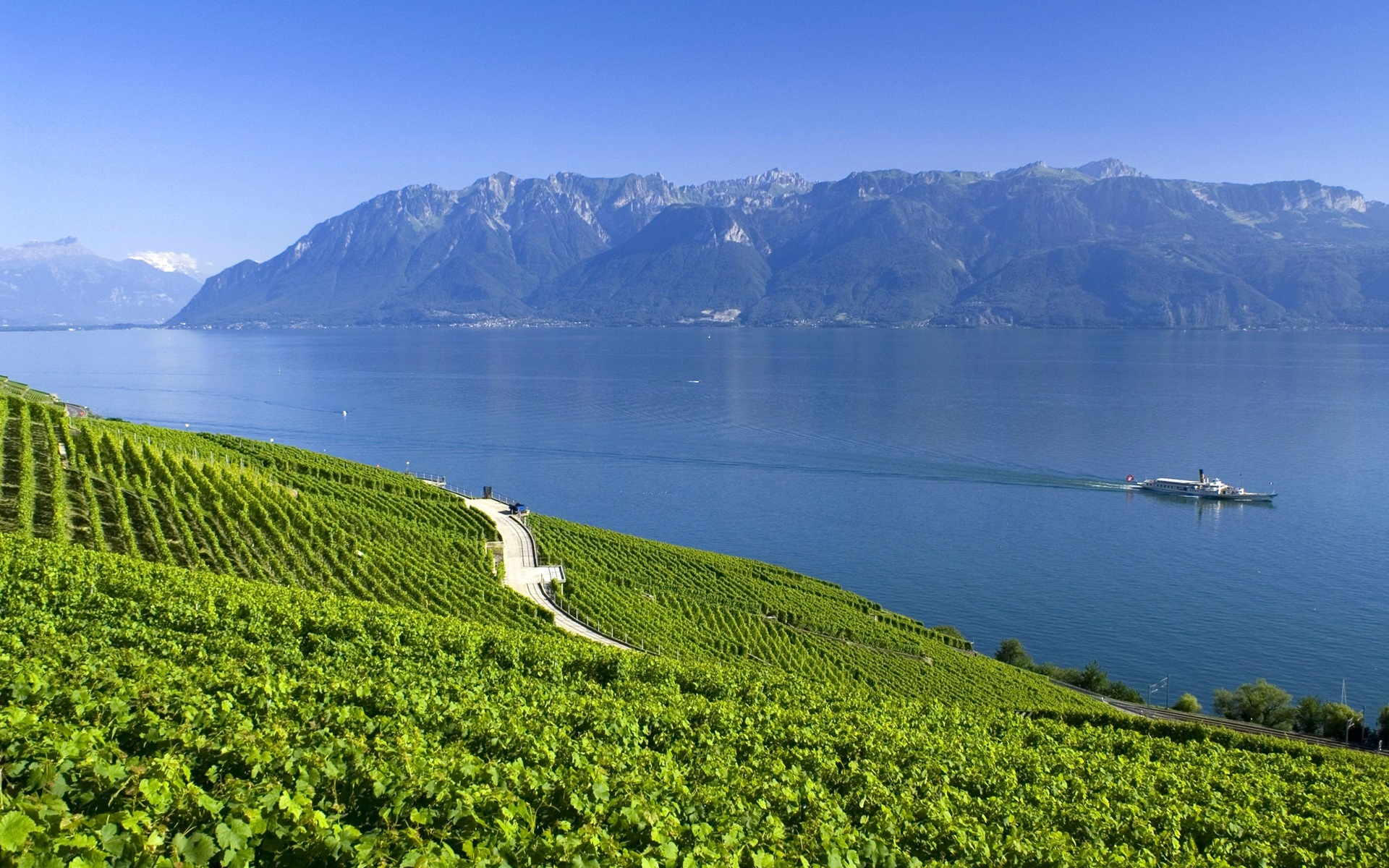 Switzerland Alps Lake