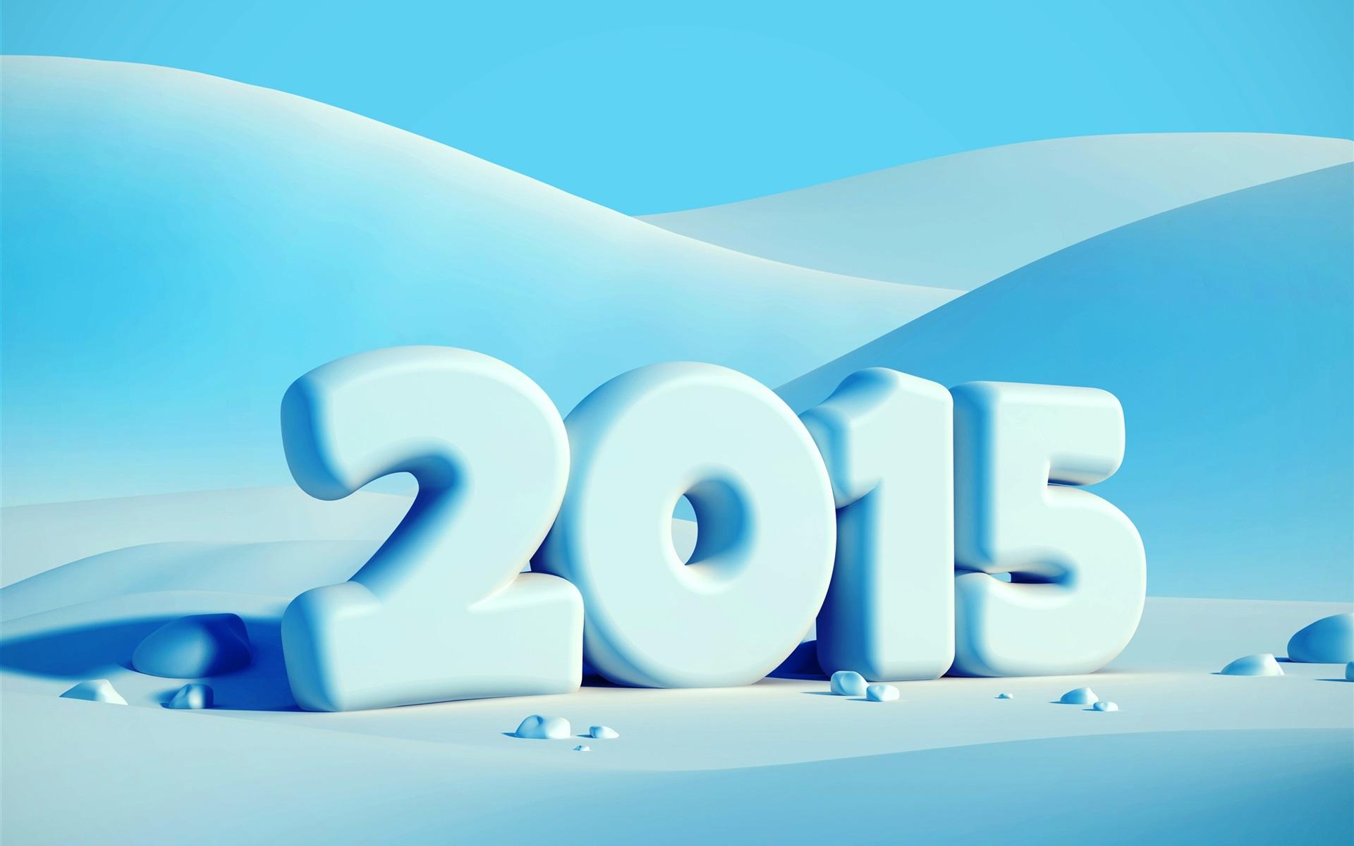 2015�$9.��j�:i[Z�`_新年快乐2015年新年,冬天,雪 壁纸 - 1920x1200