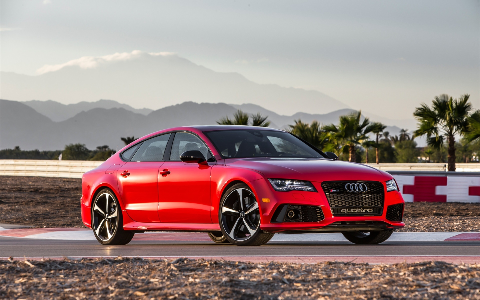 Wallpaper Audi Rs7 Red V8 Car 1920x1200 Hd Picture Image