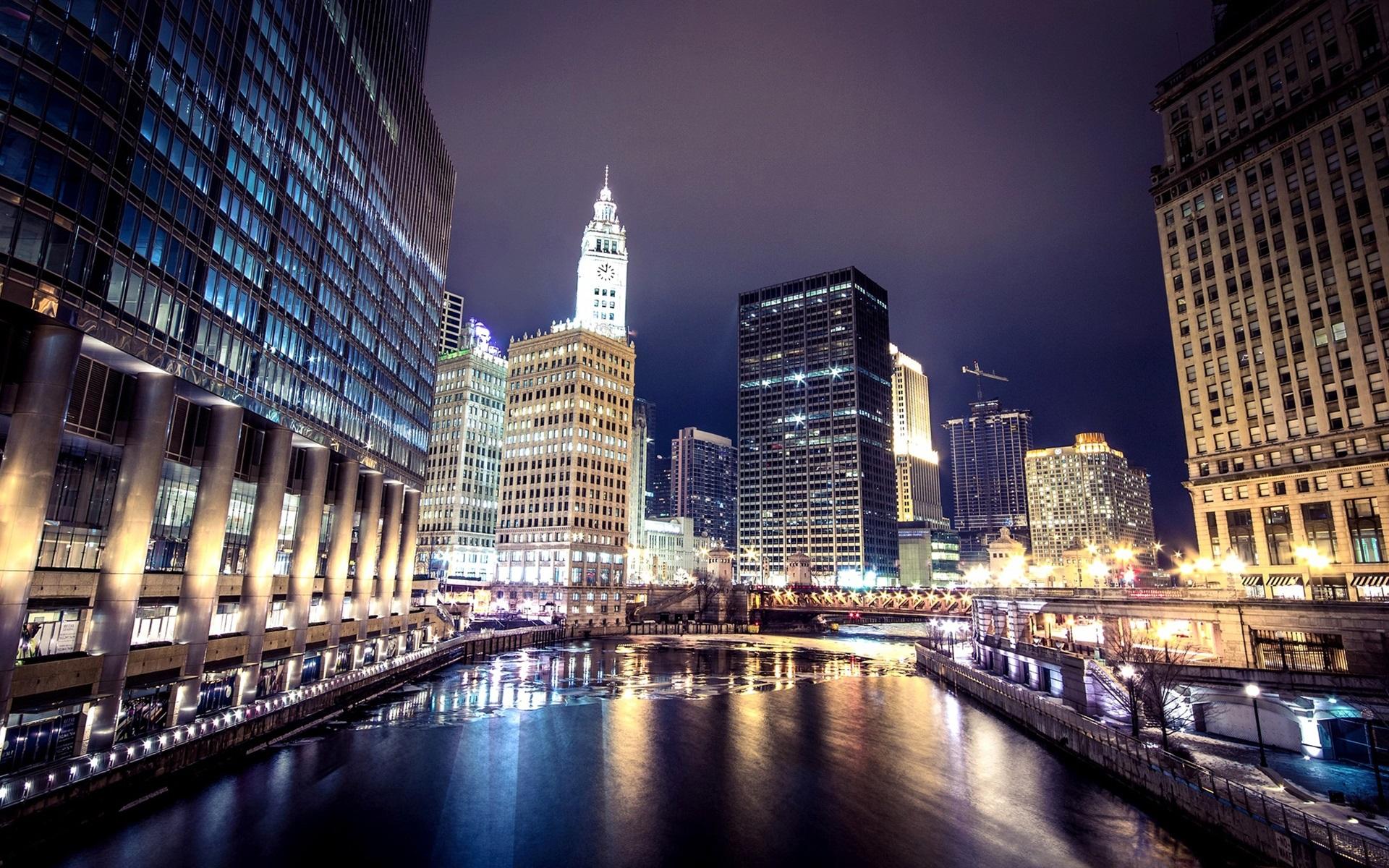 Обои небоскребы, чикаго, america, америка, chicago, здания. Города foto 16