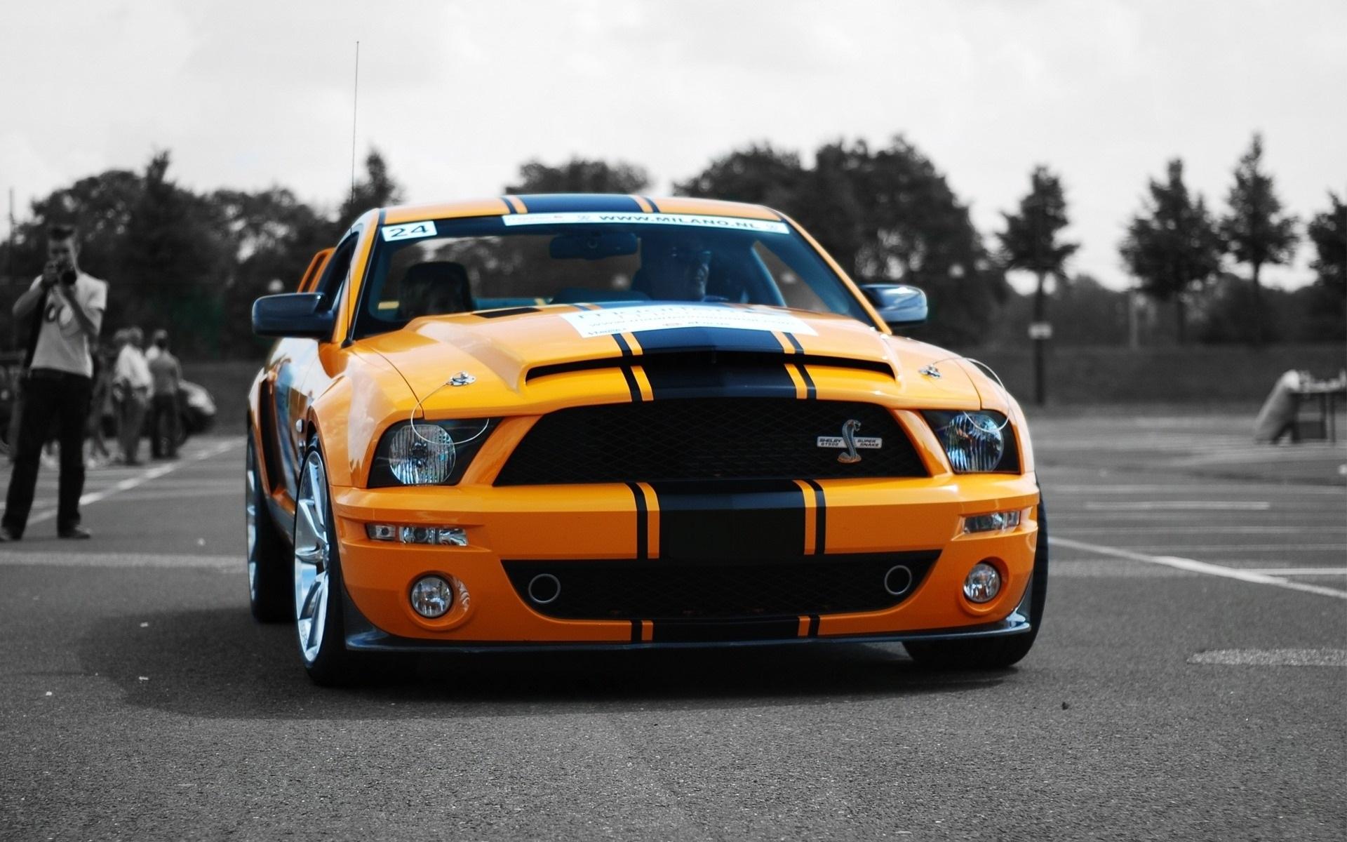 Ford Mustang гоночный красный тюнинг загрузить