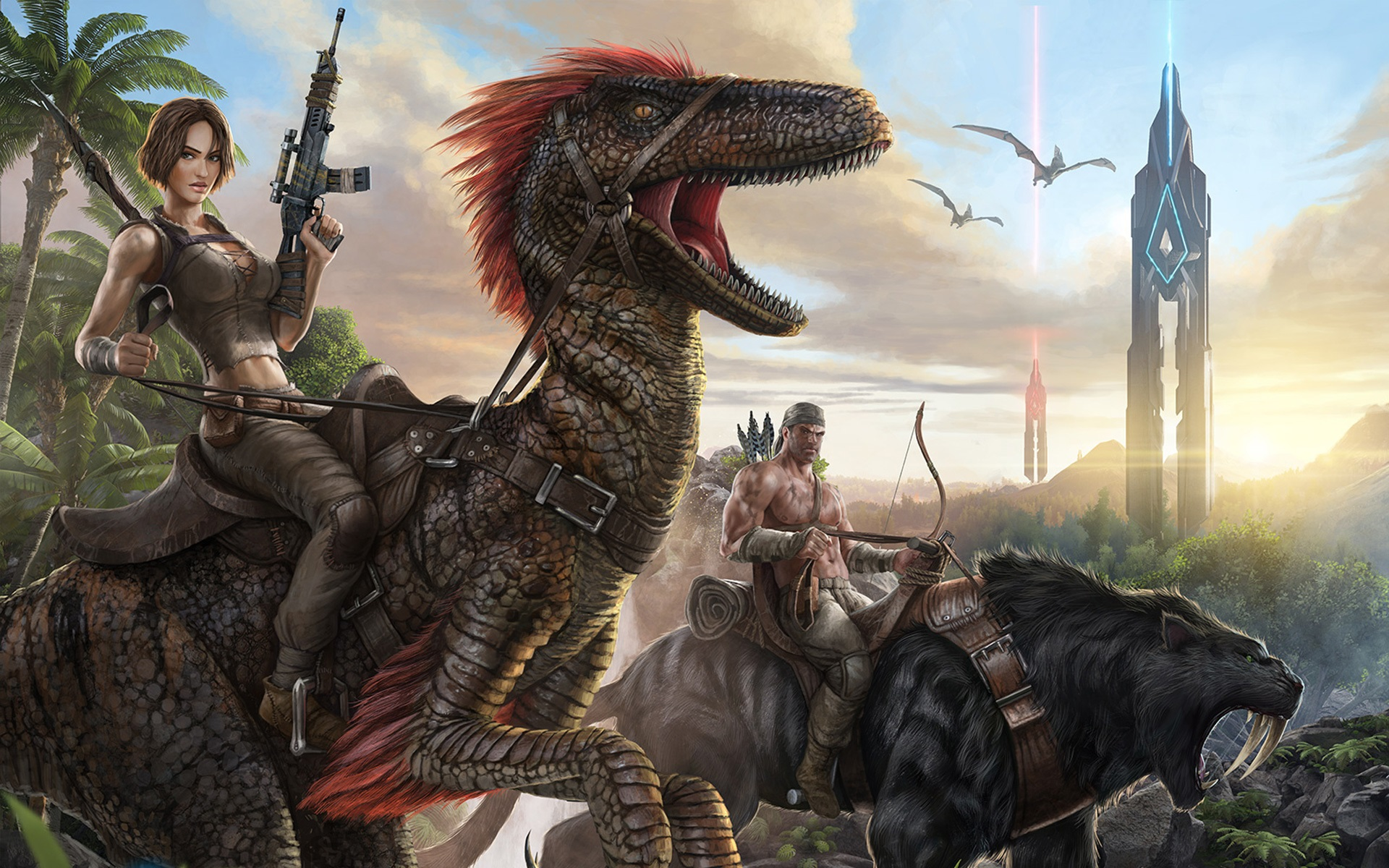 Wallpaper Ark Survival Evolved 1920x1200 Hd Picture Image