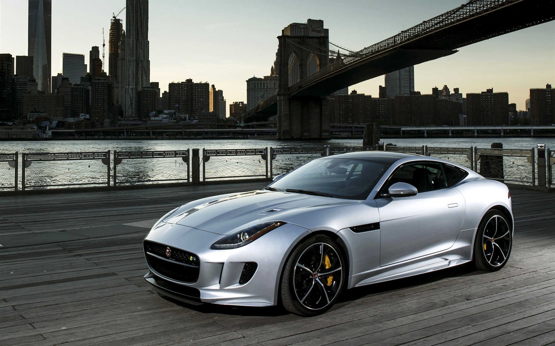 The Best 100 Hd And Qhd Wallpapers From 2015 Works For: Download Wallpaper 1920x1200 2015 Jaguar F-Type R Silver